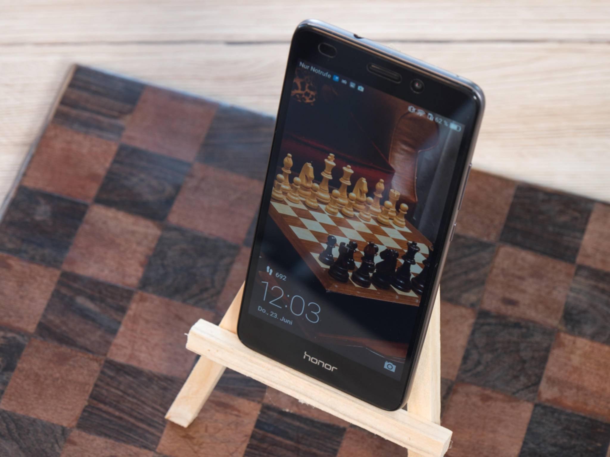 Das Honor 5C besitzt dieselbe Oberfläche wie Huawei-Modelle.