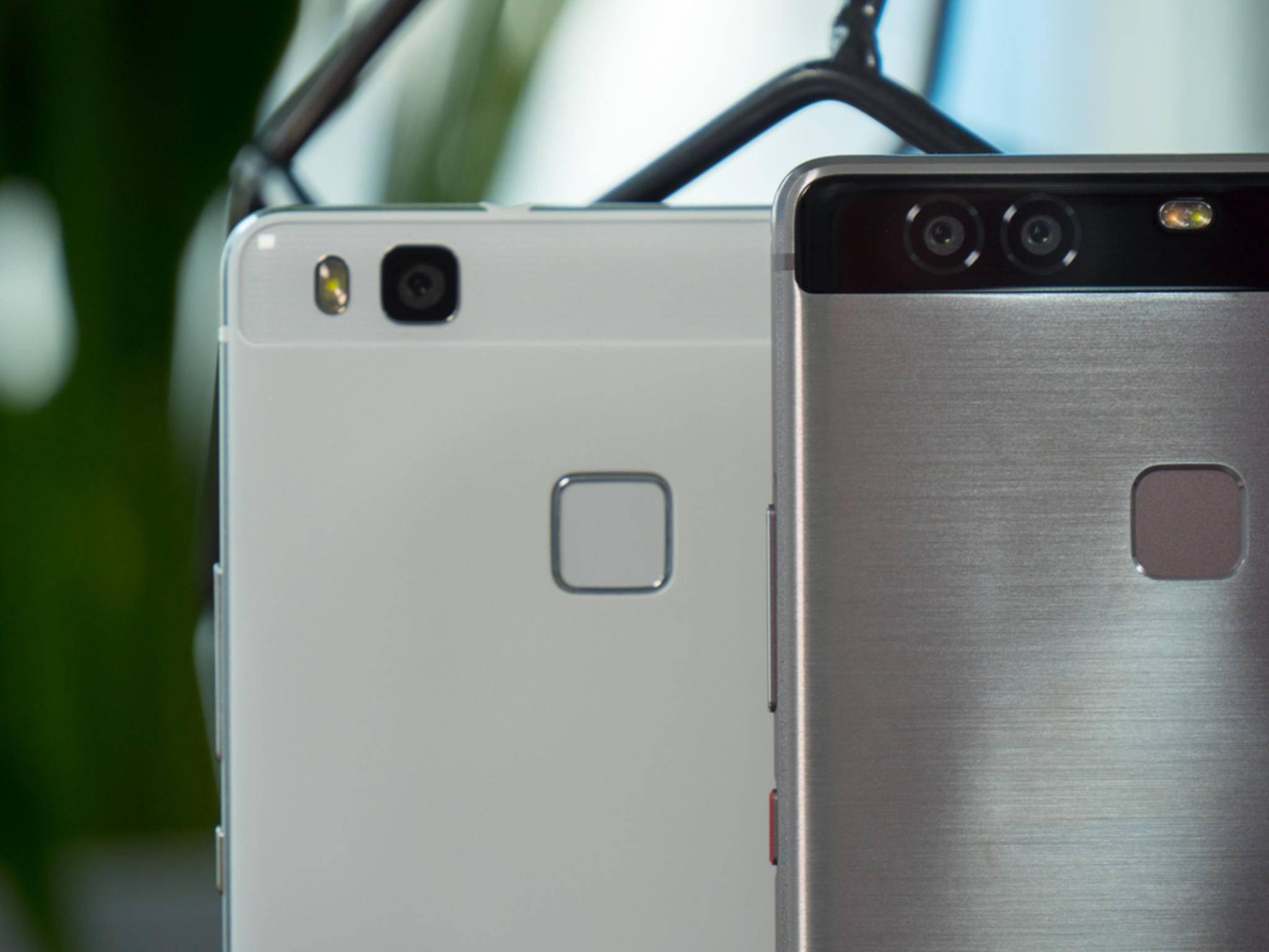 Einen Fingerabdrucksensor gibt es bei allen drei Modellen.