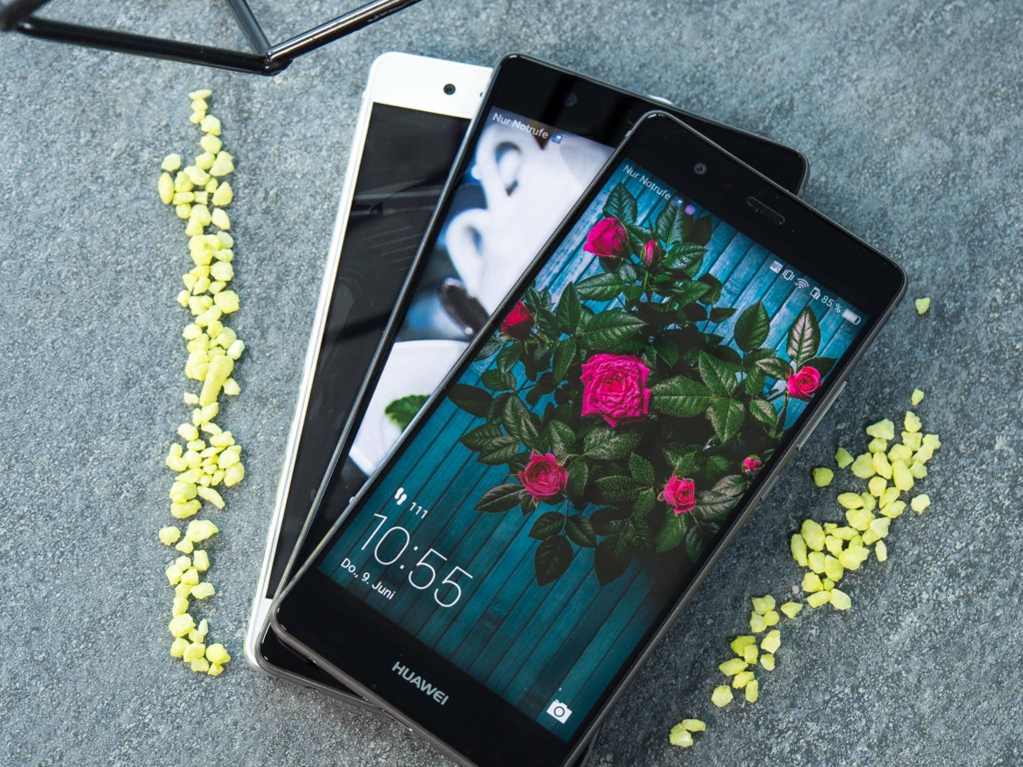 Die Mitglieder der Huawei P9-Familie gehören unterschiedlichen Preisklassen an.