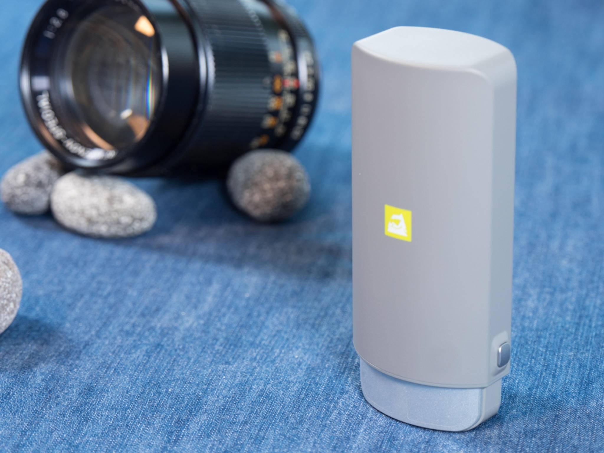 Unterwegs passt die LG 360 Cam bequem in die Hosentasche.
