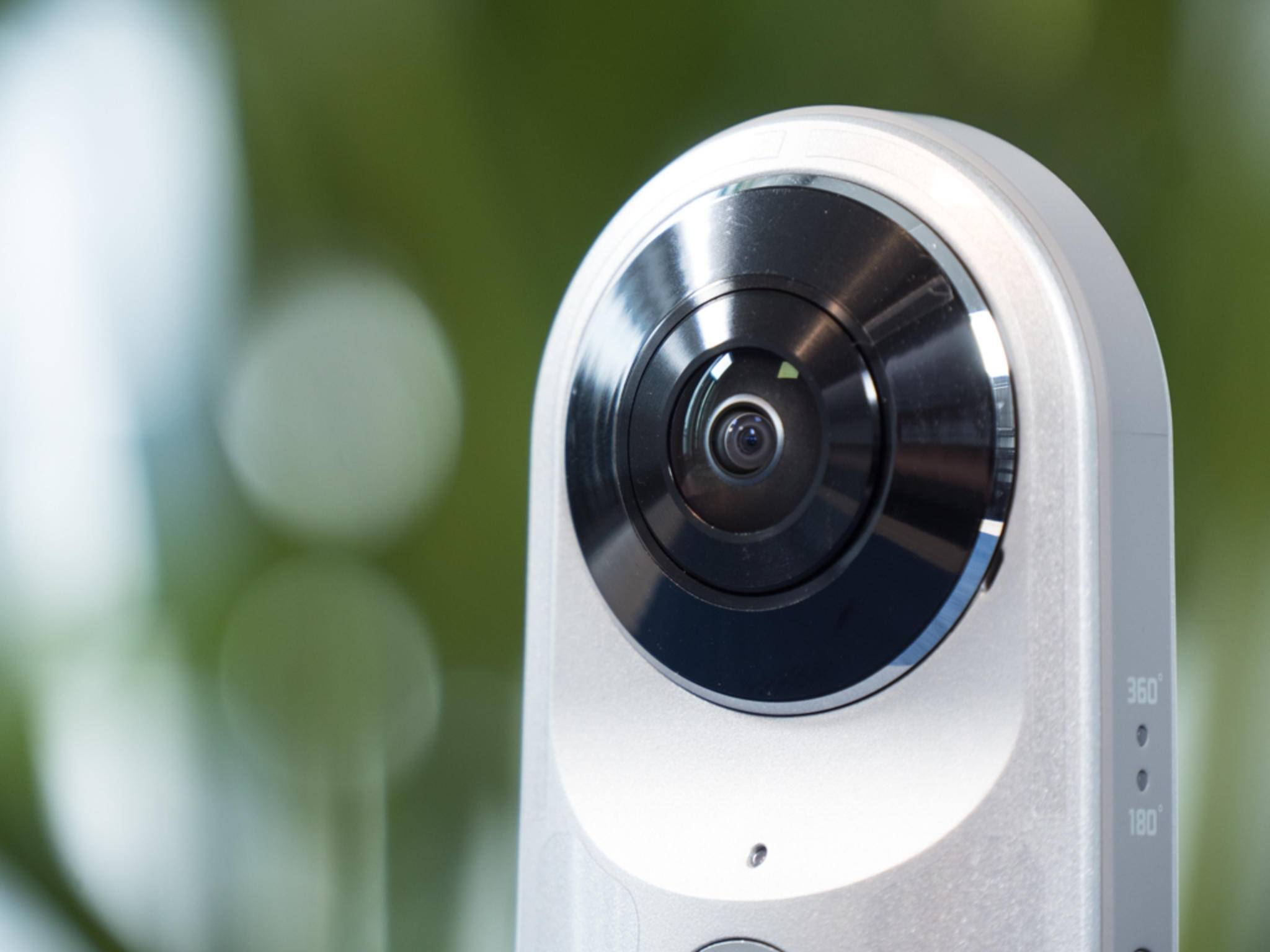 Mit der LG 360 Cam kommst Du der Virtual Reality ganz nah.
