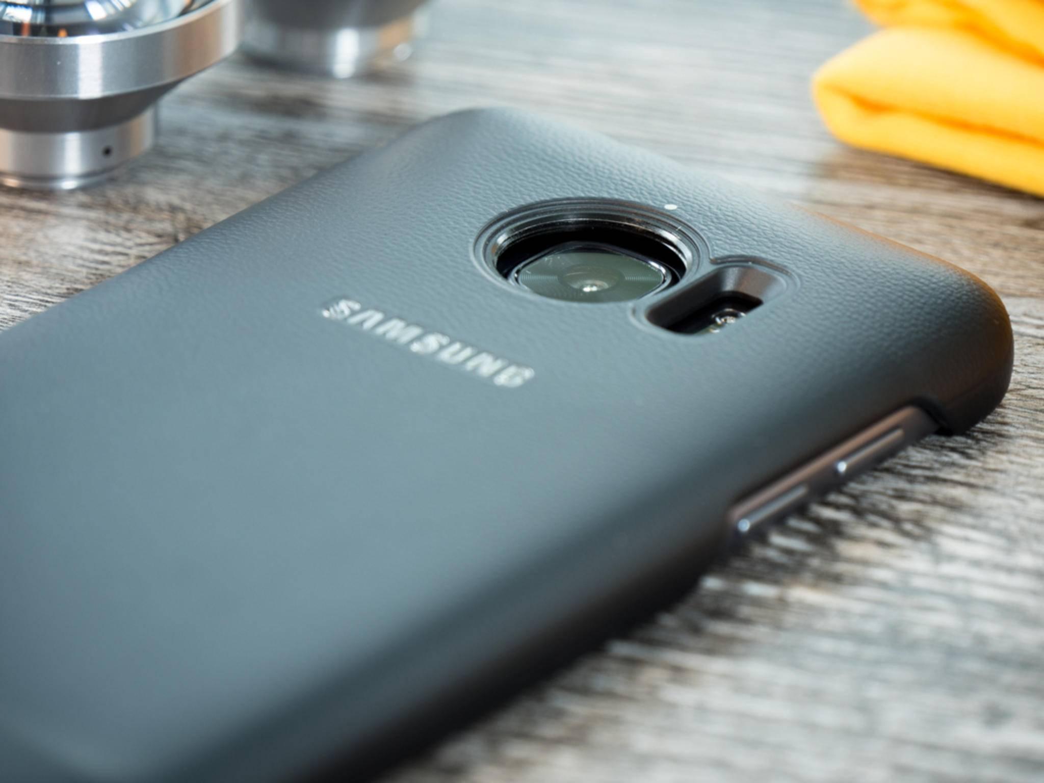 Ohne das Cover können sie aber nicht am Galaxy S7 befestigt werden.
