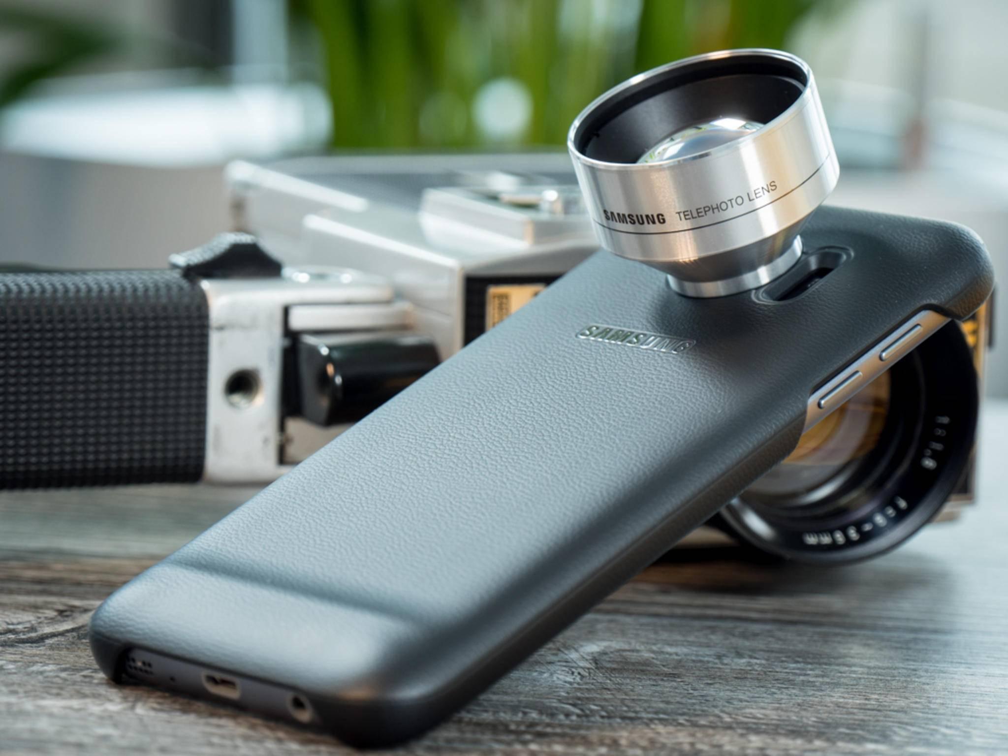 Mit den Zusatzlinsen soll das Galaxy S7 noch mehr Foto-Möglichkeiten bieten.