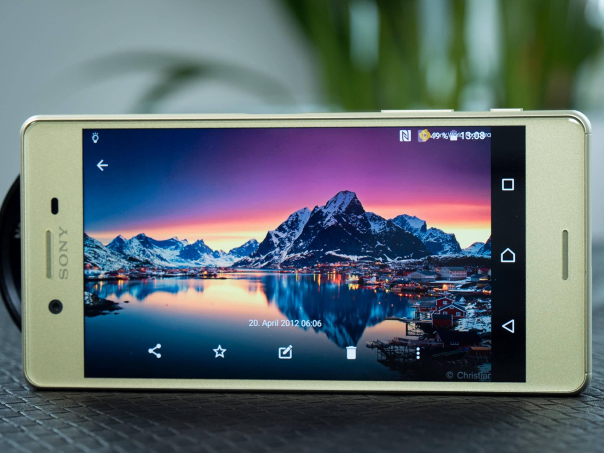 Das Sony Xperia X: Hat der Nachfolger 2017 ein OLED-Display?