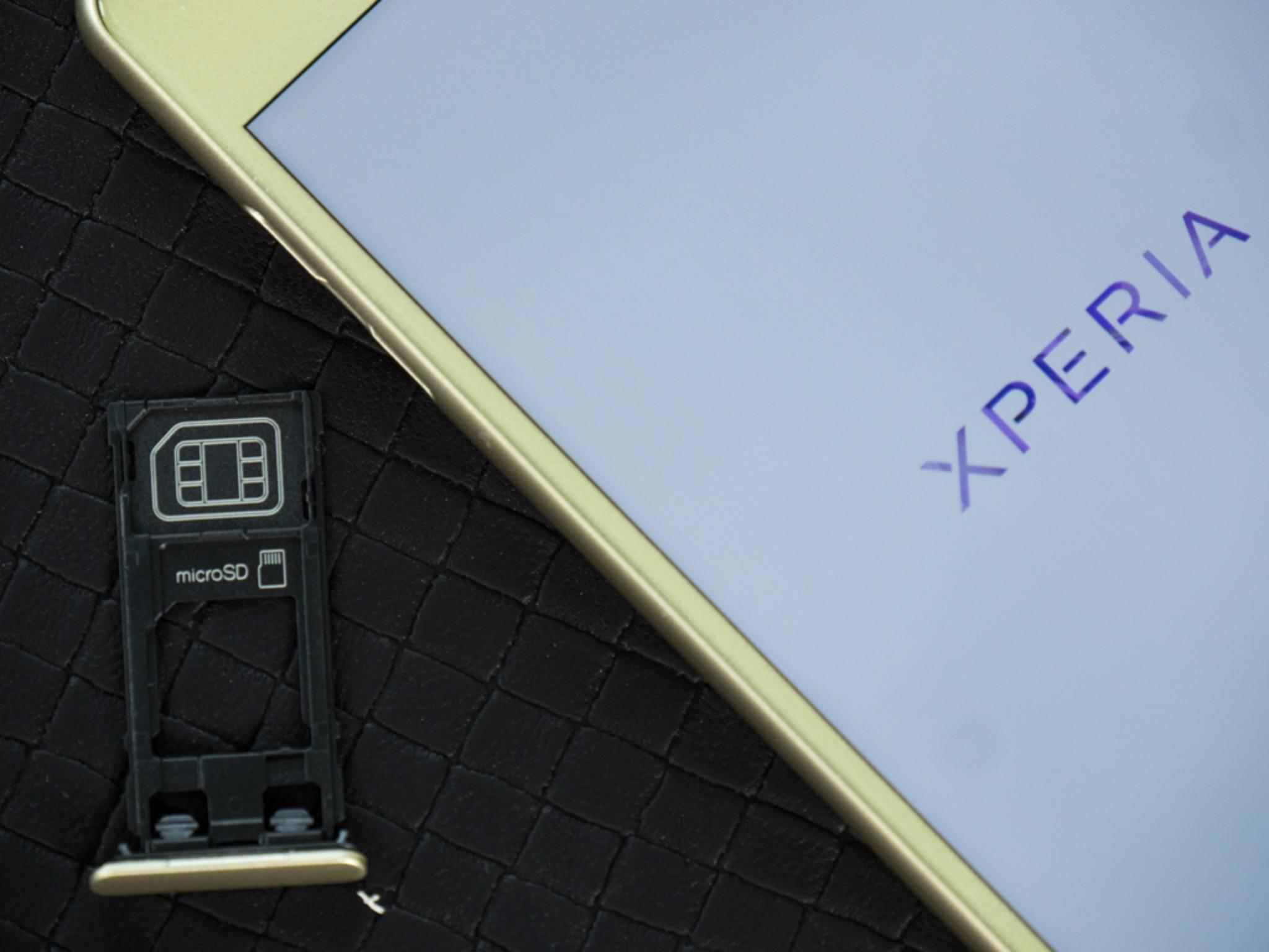 Der interne Speicher kann per microSD erweitert werden.