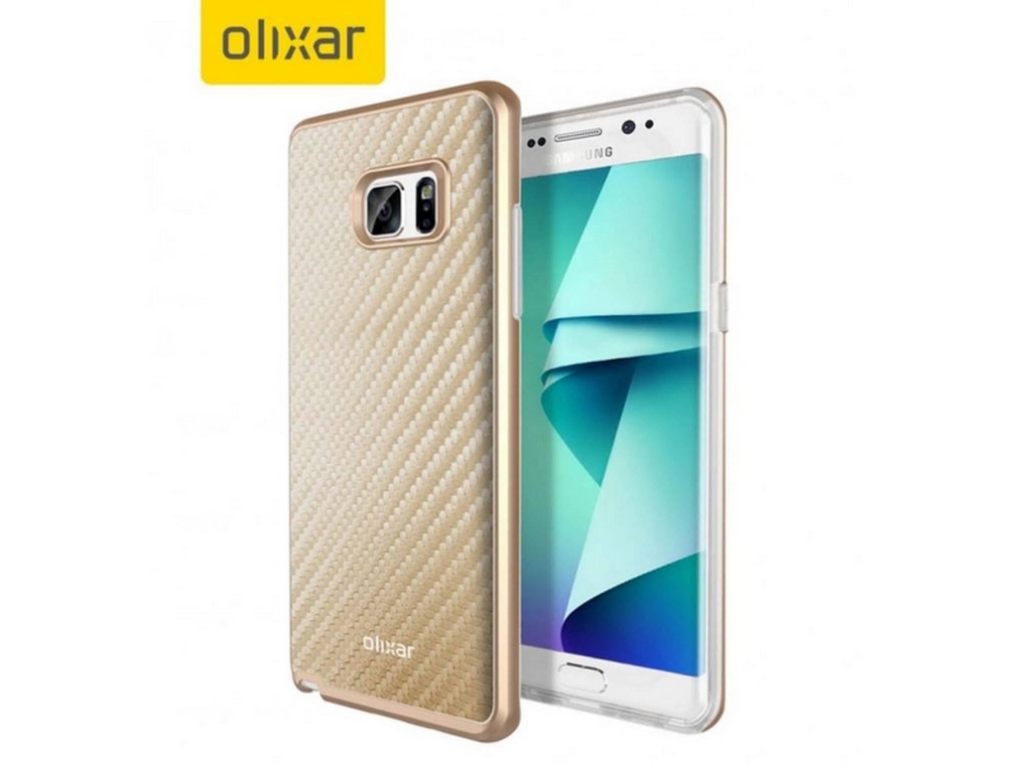 Das Samsung Galaxy Note 7 kommt offenbar tatsächlich mit Edge-Display.