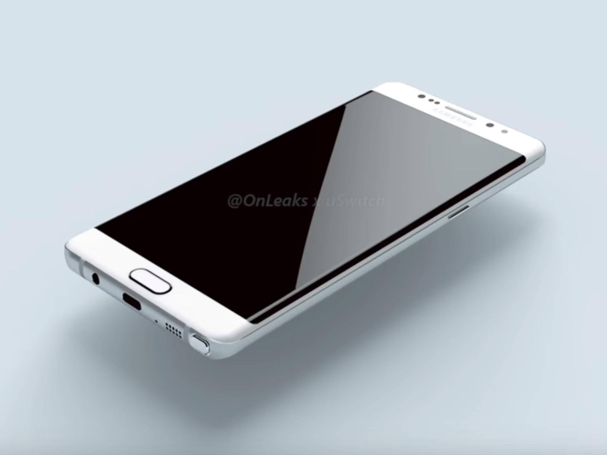 Das Galaxy Note 7 dürfte zum Release nicht gerade günstig sein.