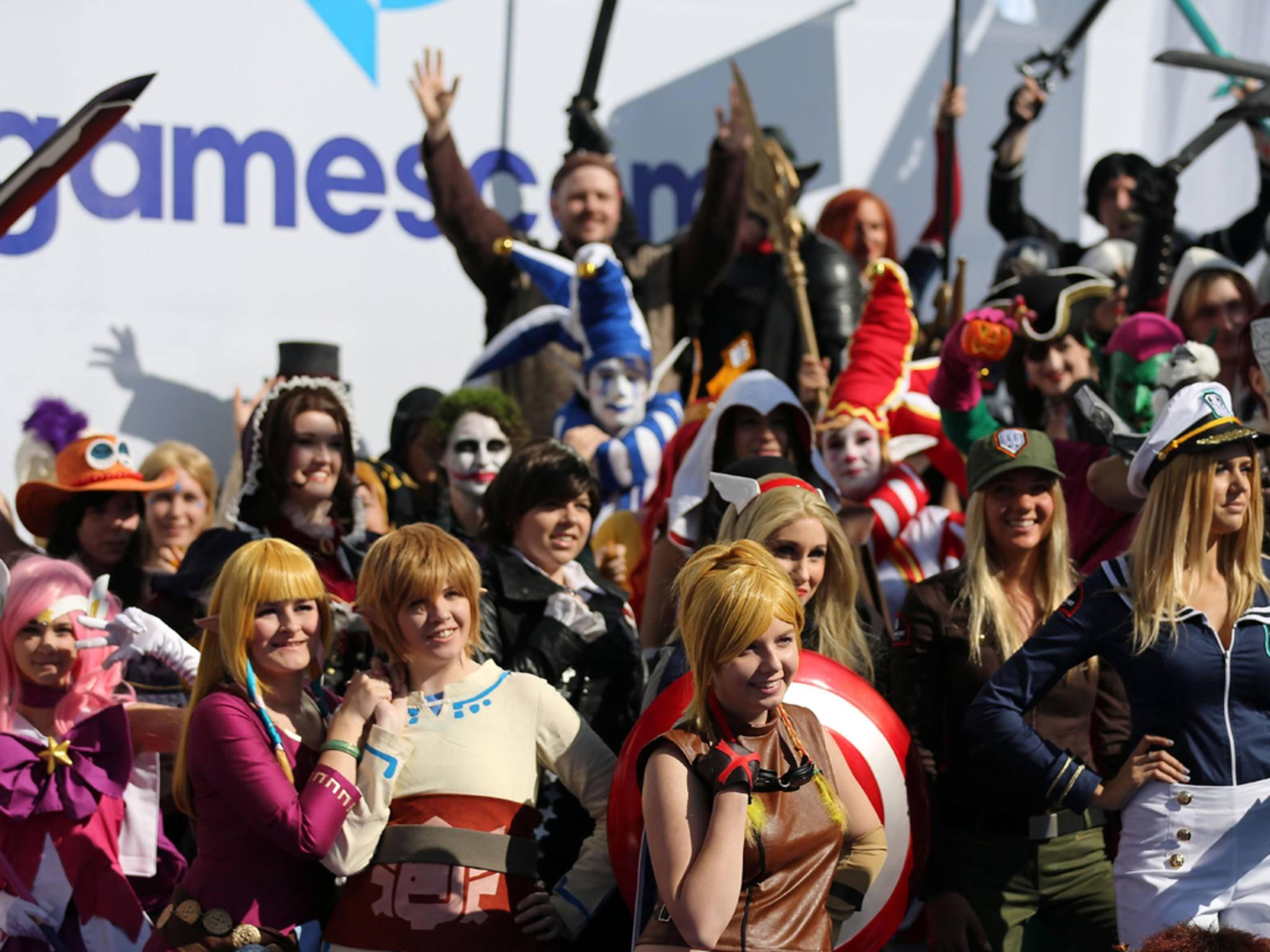 Bunt, bunter, Gamescom: Jahr für Jahr übertreffen sich die Cosplayer selbst.