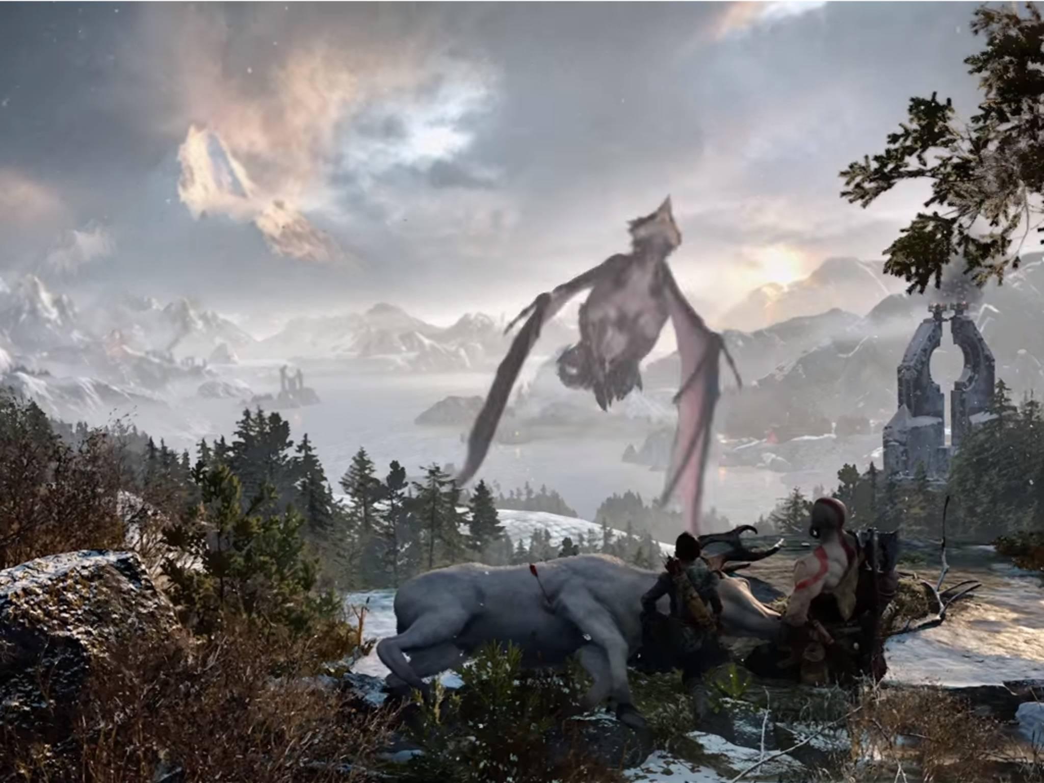 """Das neue """"God of War"""" ist eines von vielen Highlights der E3 2016."""