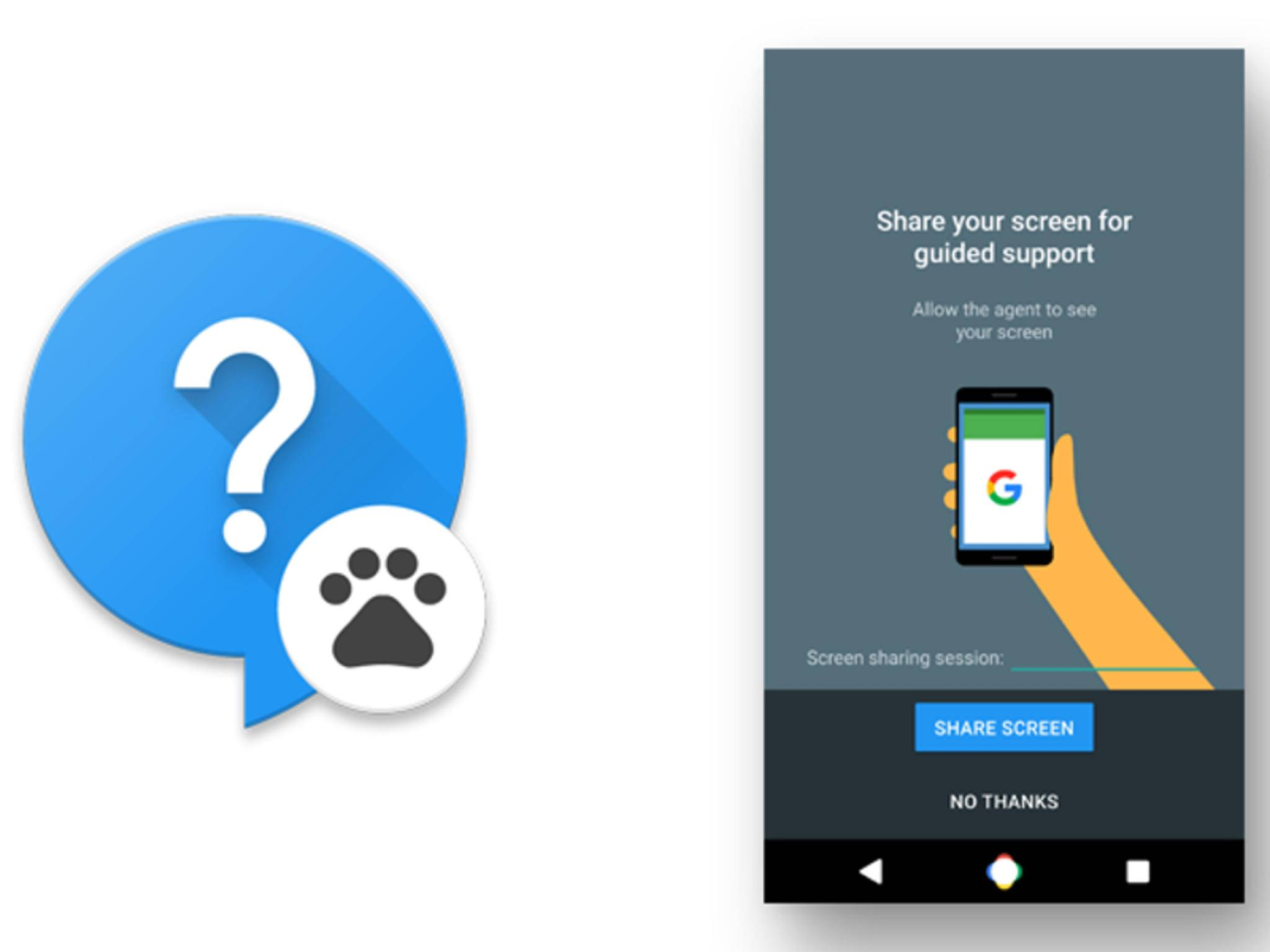 Google Fernwartungs-App