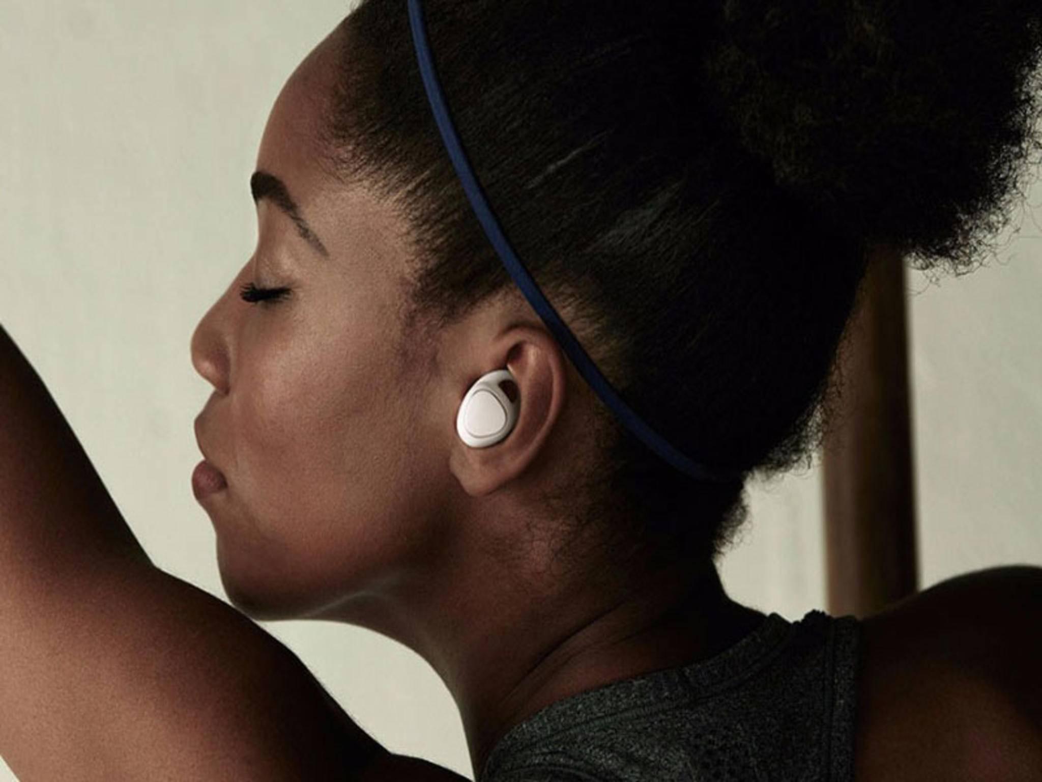 Die Gear IconX sind völlig kabellose In-Ear-Kopfhörer.