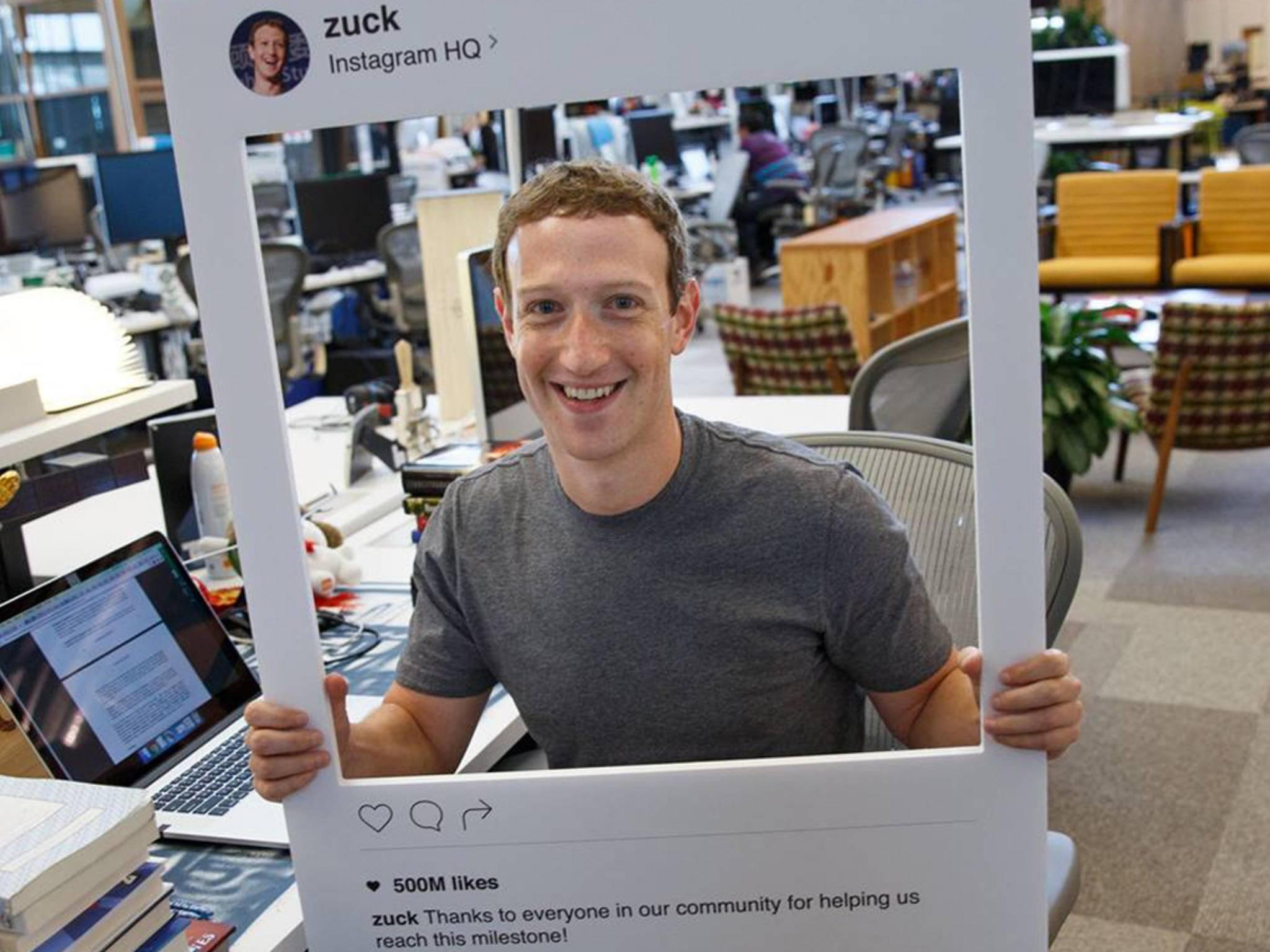 Mark Zuckerberg will zwar Deine Daten haben.