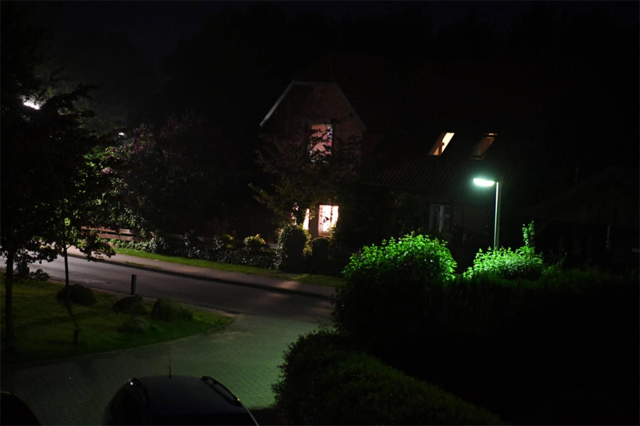 Auch in der Dunkelheit kann die Nikon D5 ihre Stärken ausspielen.
