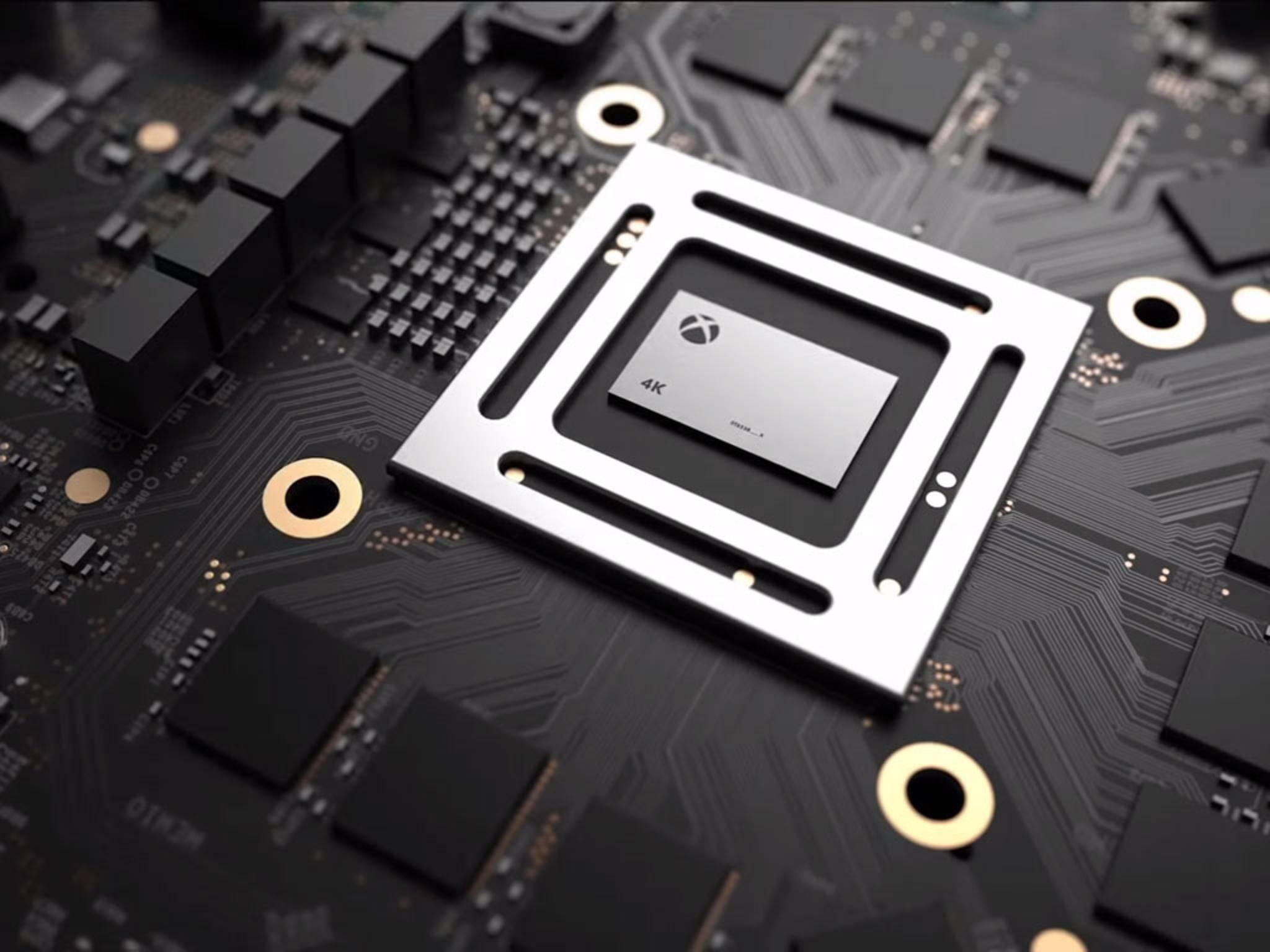 Die neue Xbox Scorpio soll bis zu 40 Prozent schneller als die PlayStation 4 Pro sein.