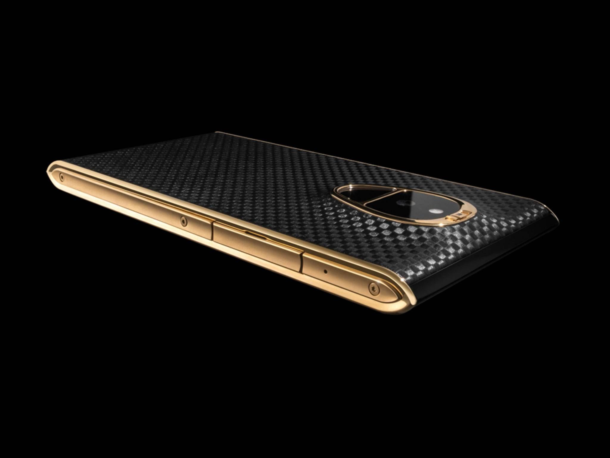 Solarin wird als das erste wirklich smarte Smartphone beworben.