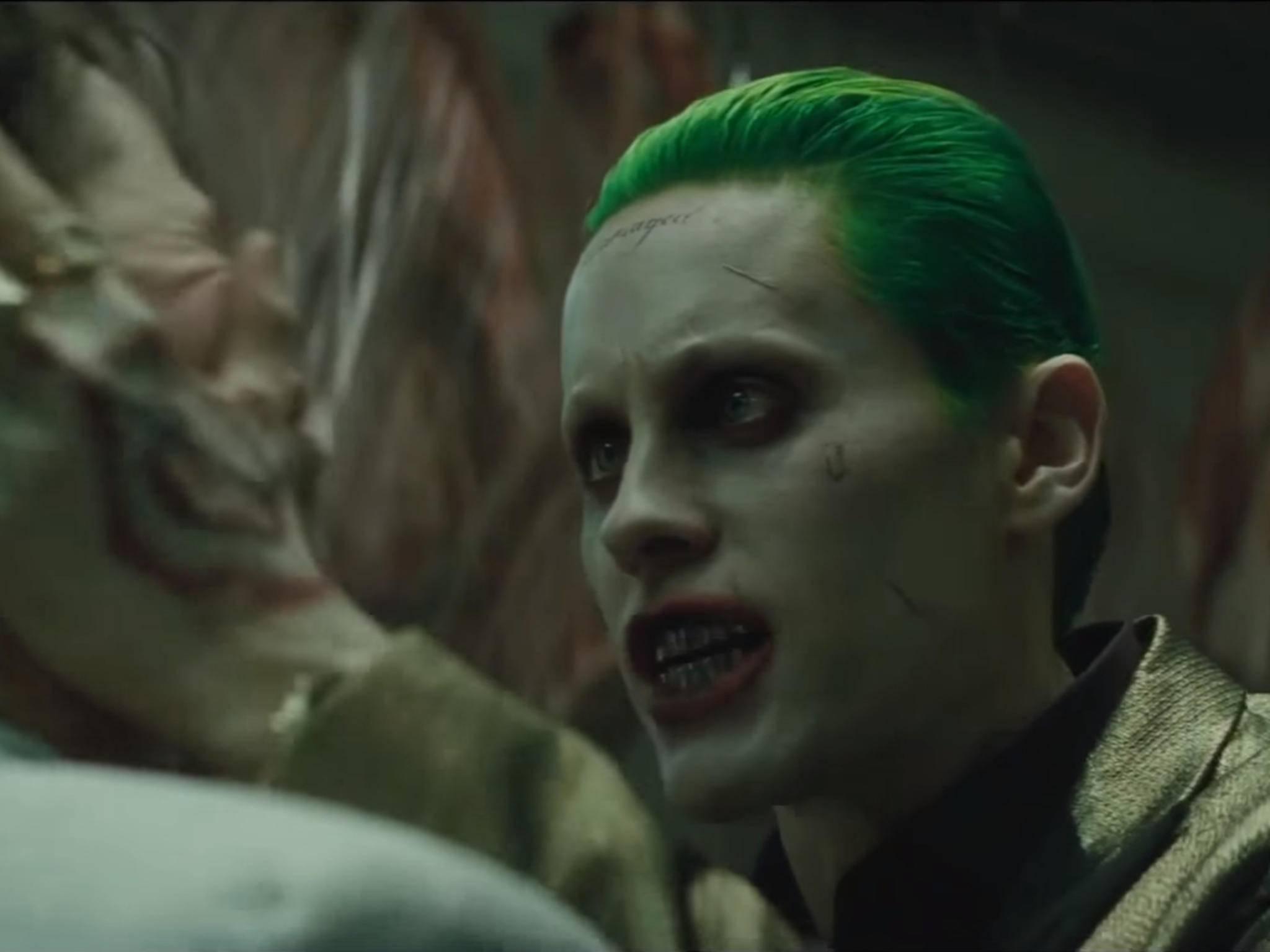 Der will doch nur spielen! Darf er aber wohl nicht mehr: Jared Letos Joker soll Geschichte sein.