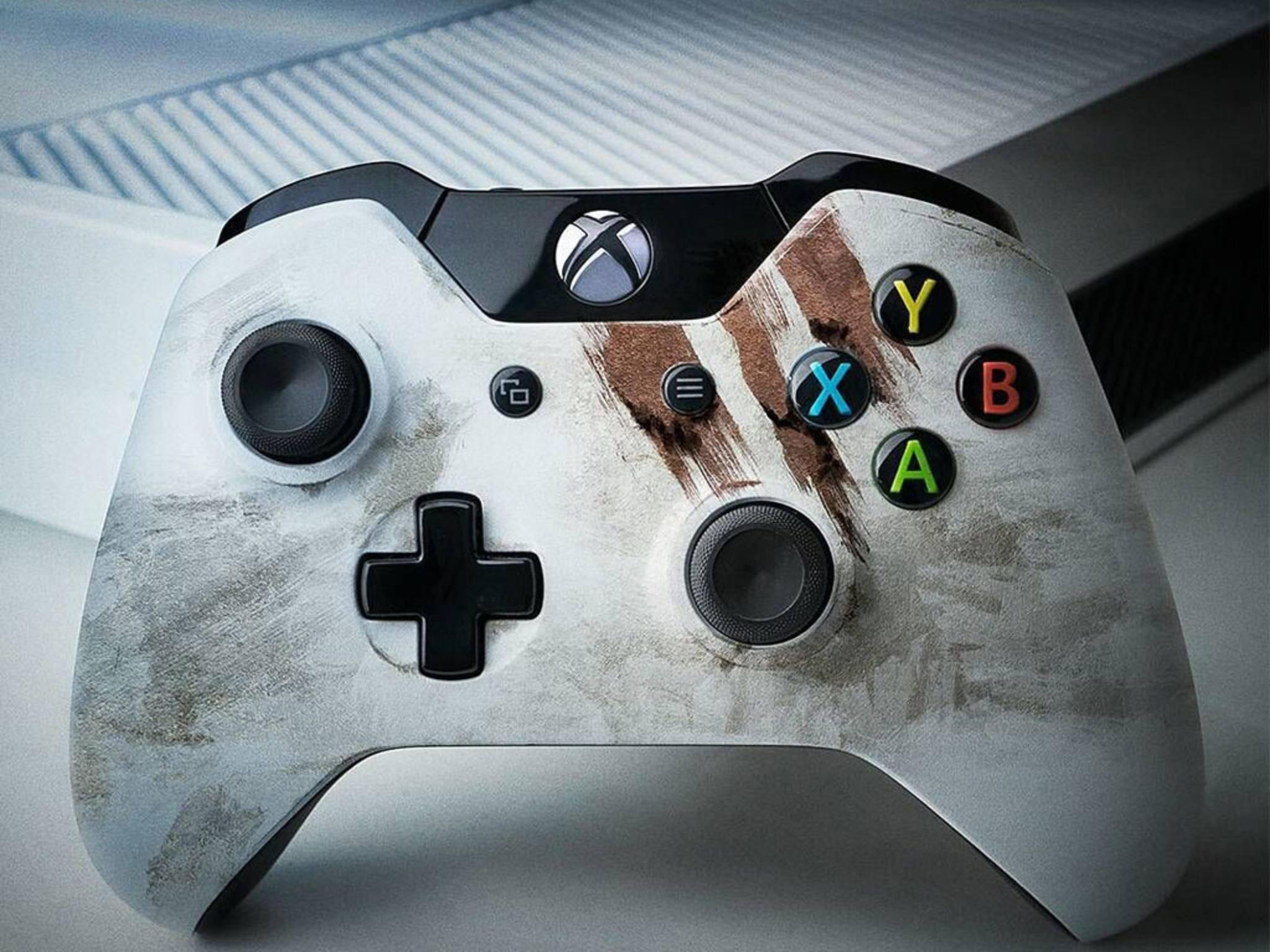Eine Xbox One Slim wird auf der E3 2016 in Los Angeles erwartet.