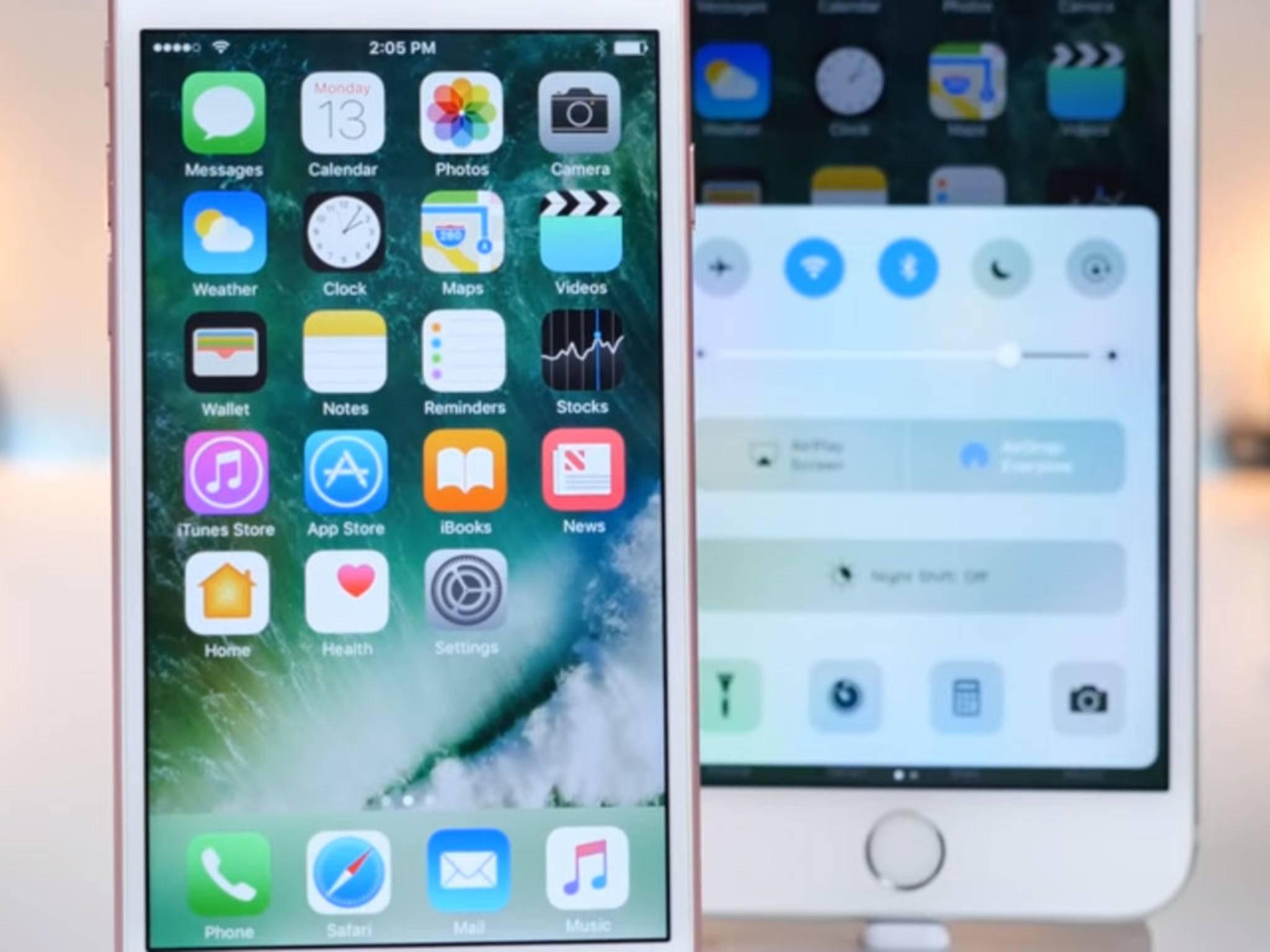 Die zweite Beta von iOS 10 bringt einige Änderungen mit sich.
