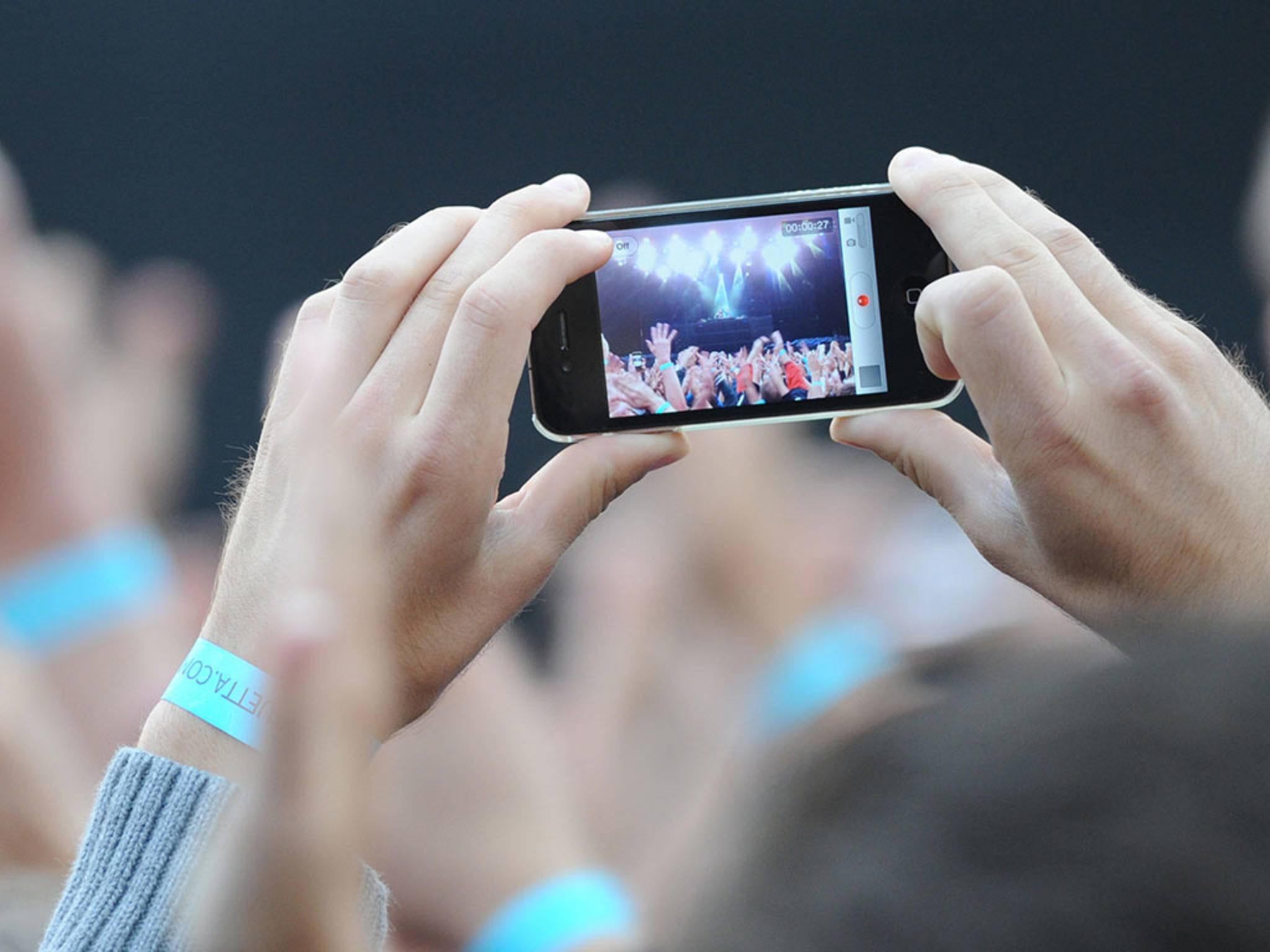 Wird Apple die Konzertfotografie künftig einschränken?