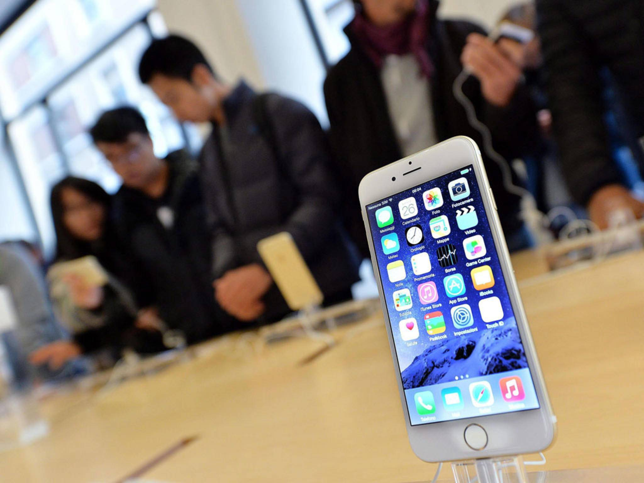 Die Apple-Kunden wechseln seltener auf das neueste iPhone.