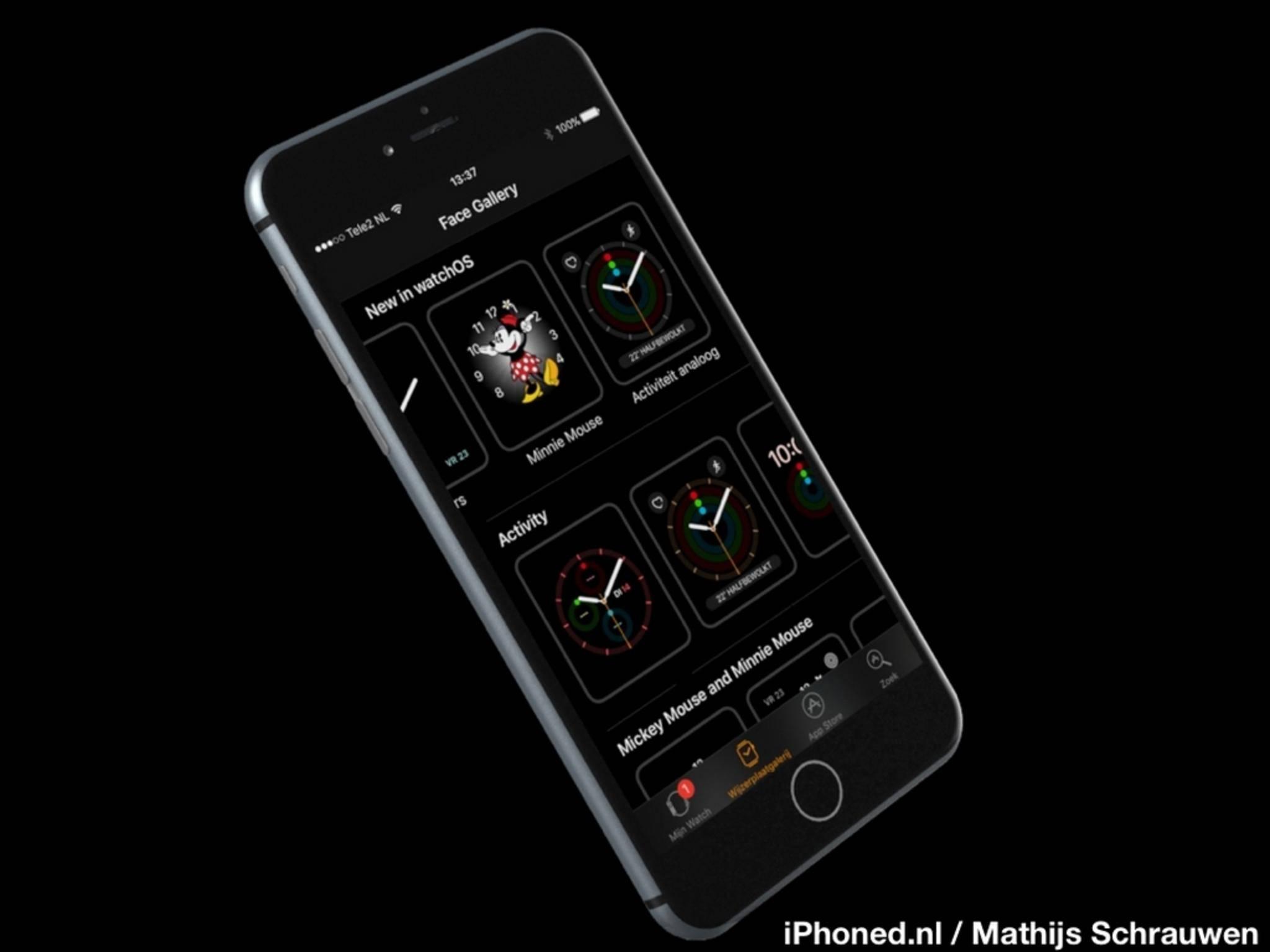 Das neue iPhone 7-Konzept mit iOS 10.