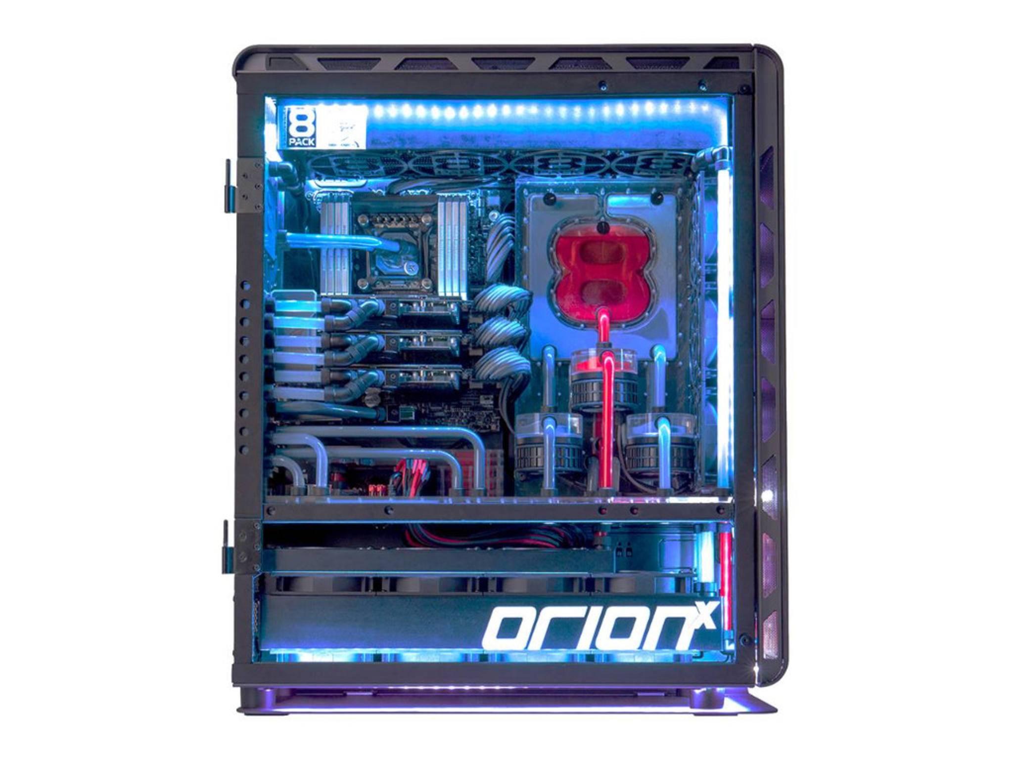 Auch von außen eine Pracht: Der OrionX.