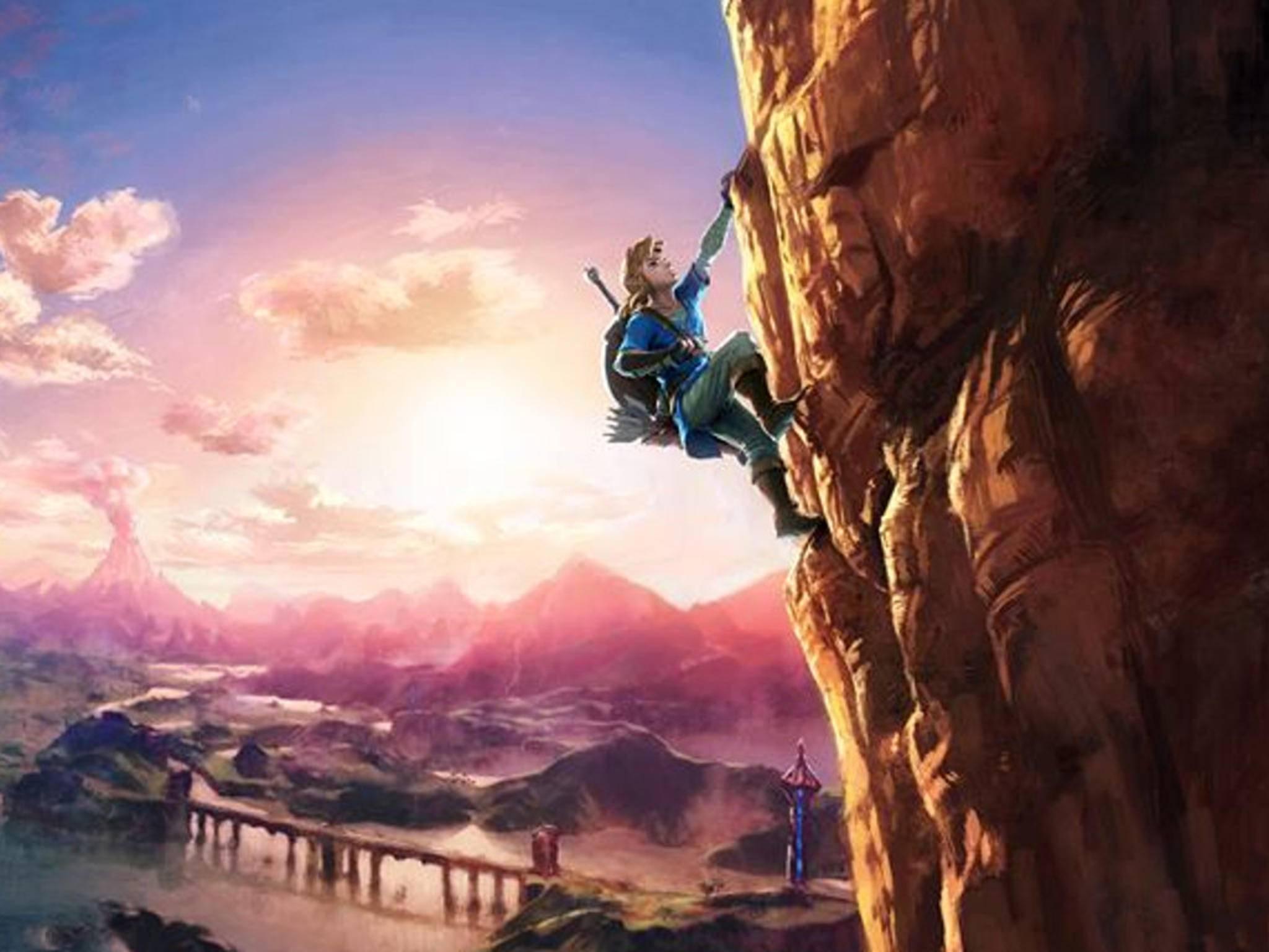 """Das neue """"The Legend of Zelda: Breath of the Wild"""" soll auch für Nintendos mysteriöse NX-Konsole erscheinen."""