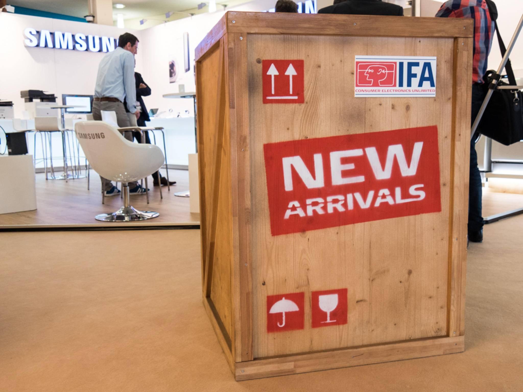 Auf dem IFA Media Briefing konnten wir die neuesten Produkte unter die Lupe nehmen.
