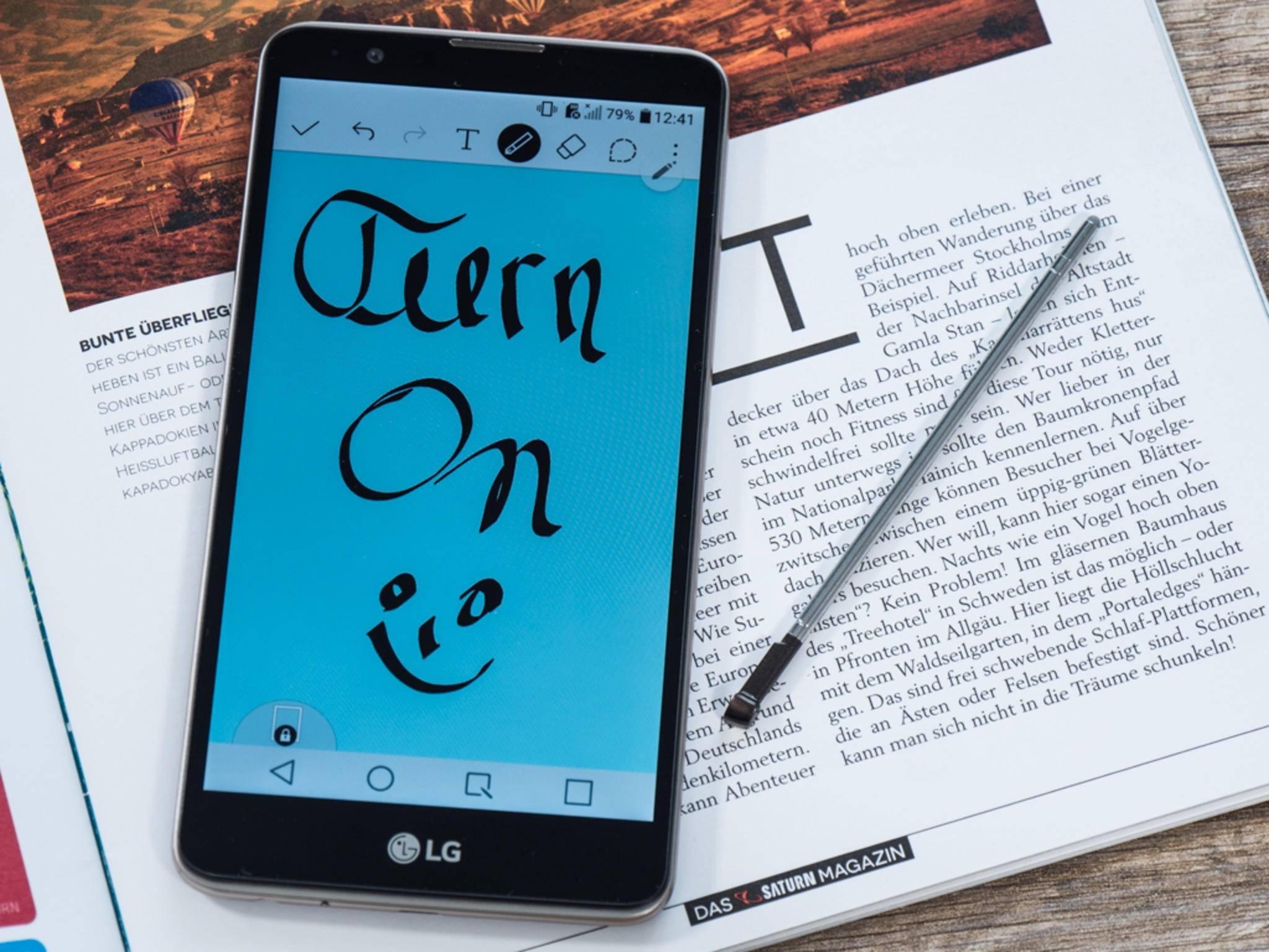Mit der Android-App Stitch & Share kannst Du Screenshots langer Websites zusammenfügen.