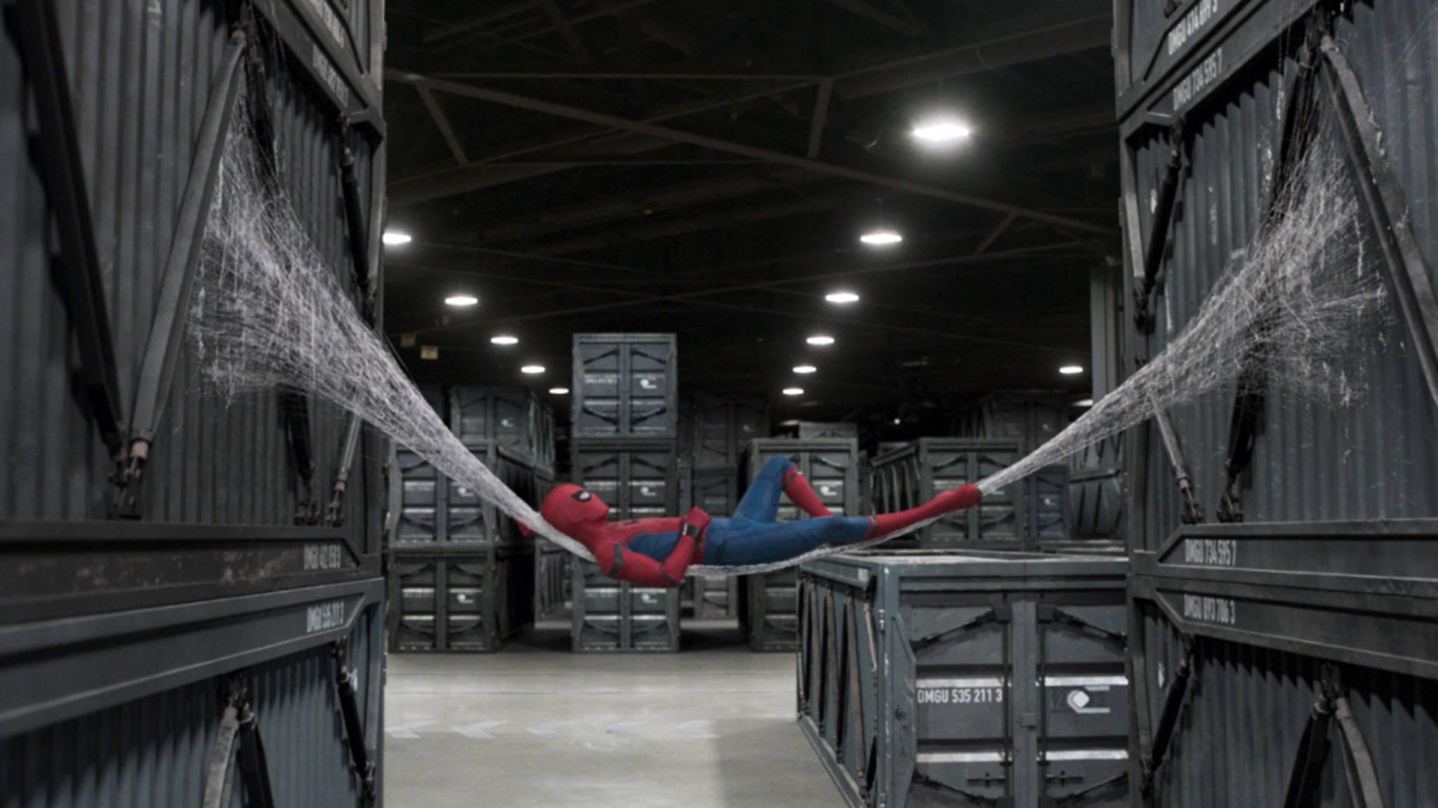 Bei den gigantischen Einspielergebnissen am ersten Wochenende kann Spider-Man getrost eine Runde abhängen.