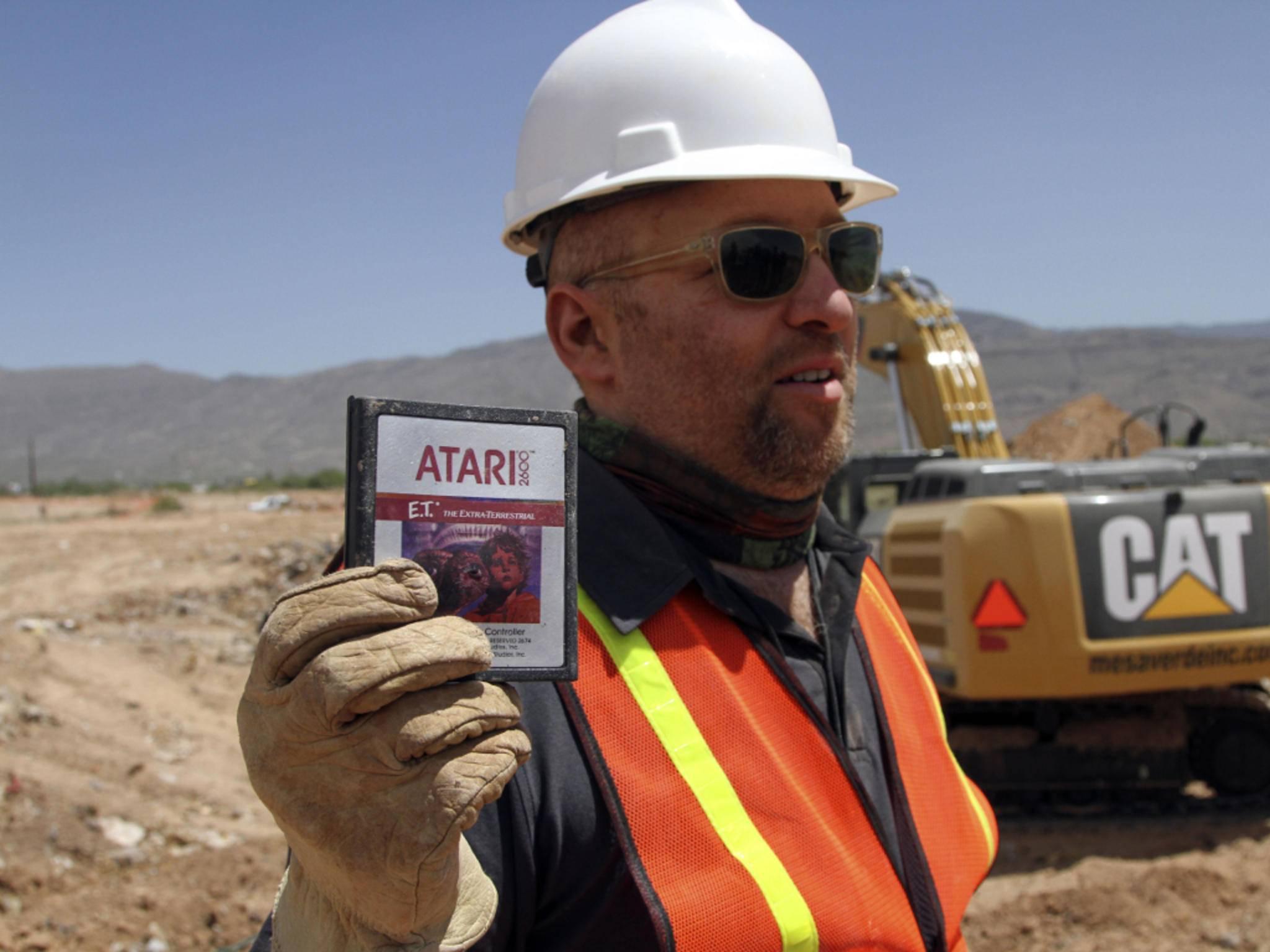 """Atari vergrub Tausende Exemplare von """"E.T."""" in der Wüste von New Mexico."""