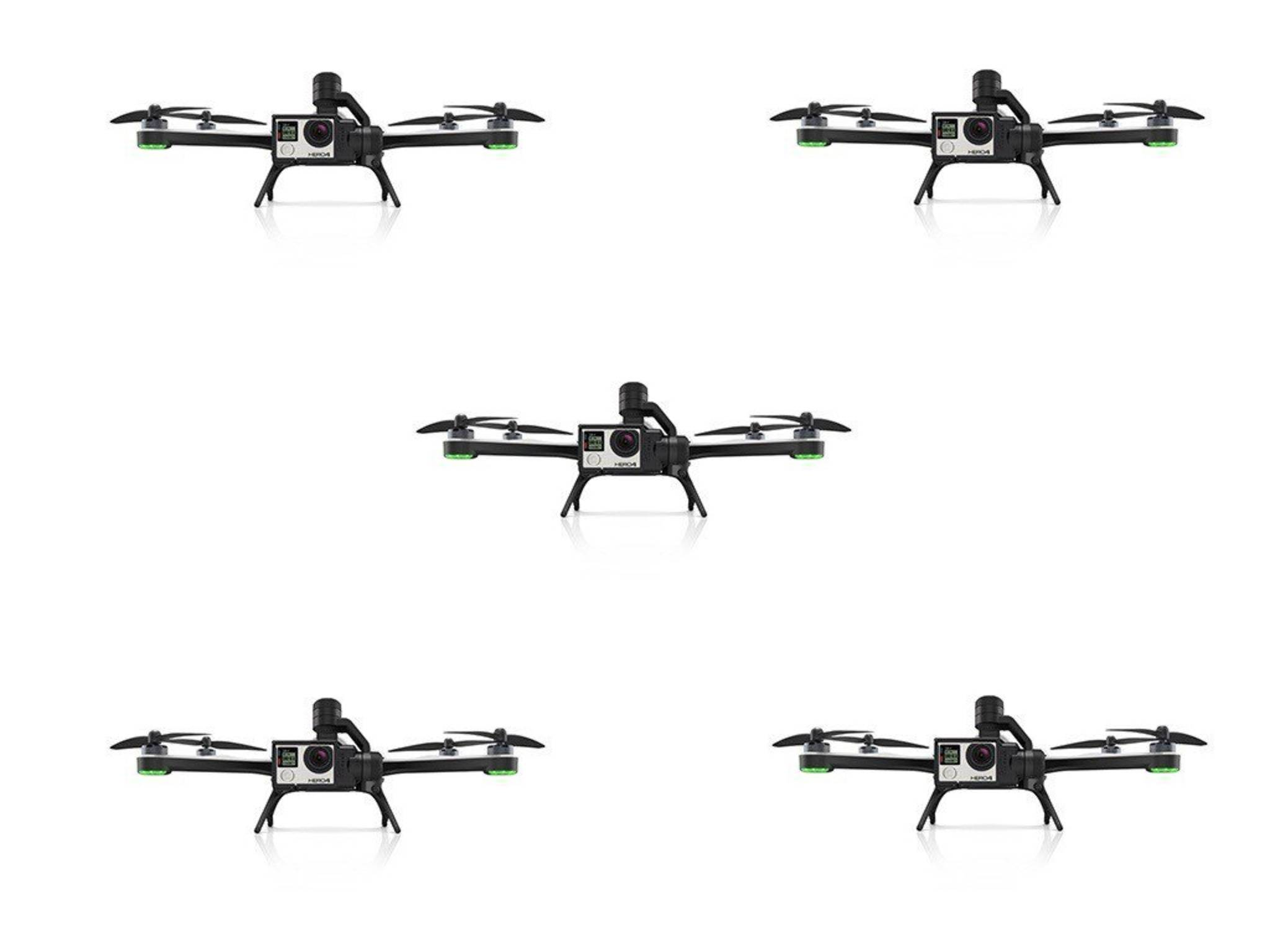 So soll die GoPro-Karma-Drohne angeblich aussehen.