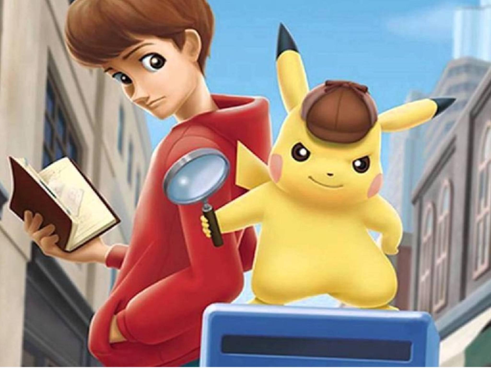 "Der Pokémon-Film beruht auf dem Adventure ""The Great Detective Pikachu""."