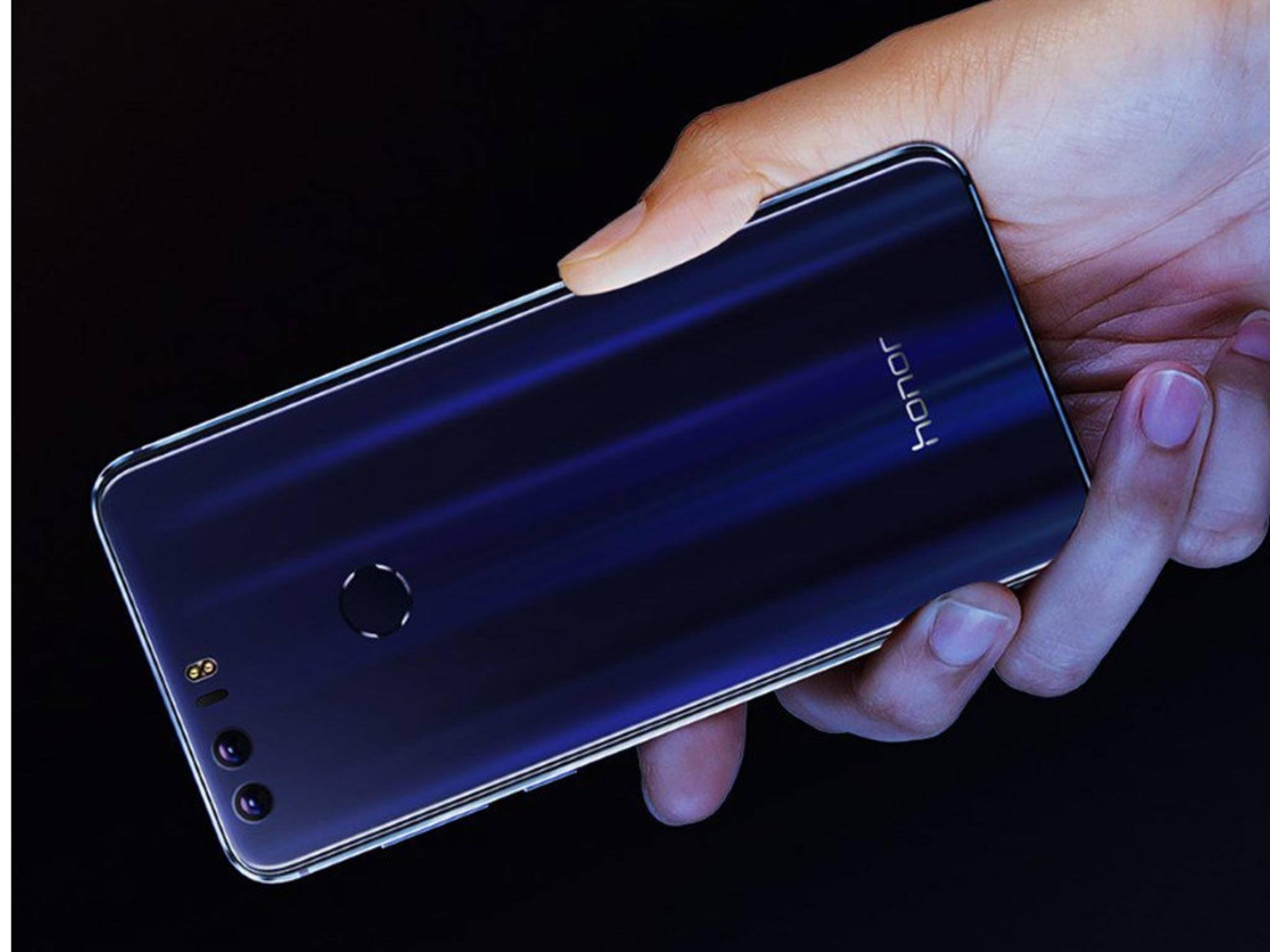 Honor 8: Günstiges Smartphone mit Dual-Kamera.