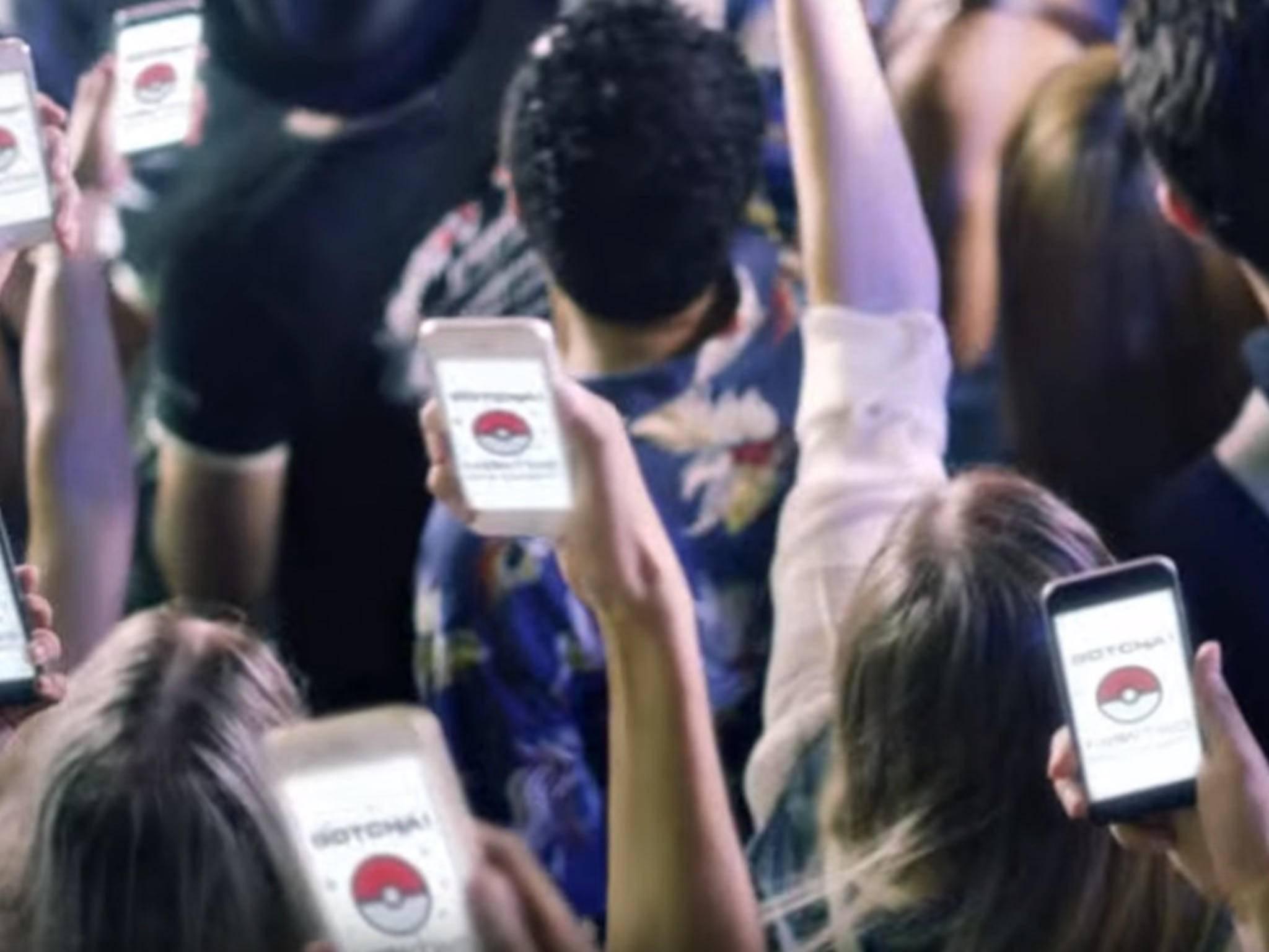 """""""Pokémon Go"""" bringt viele Menschen zusammen."""