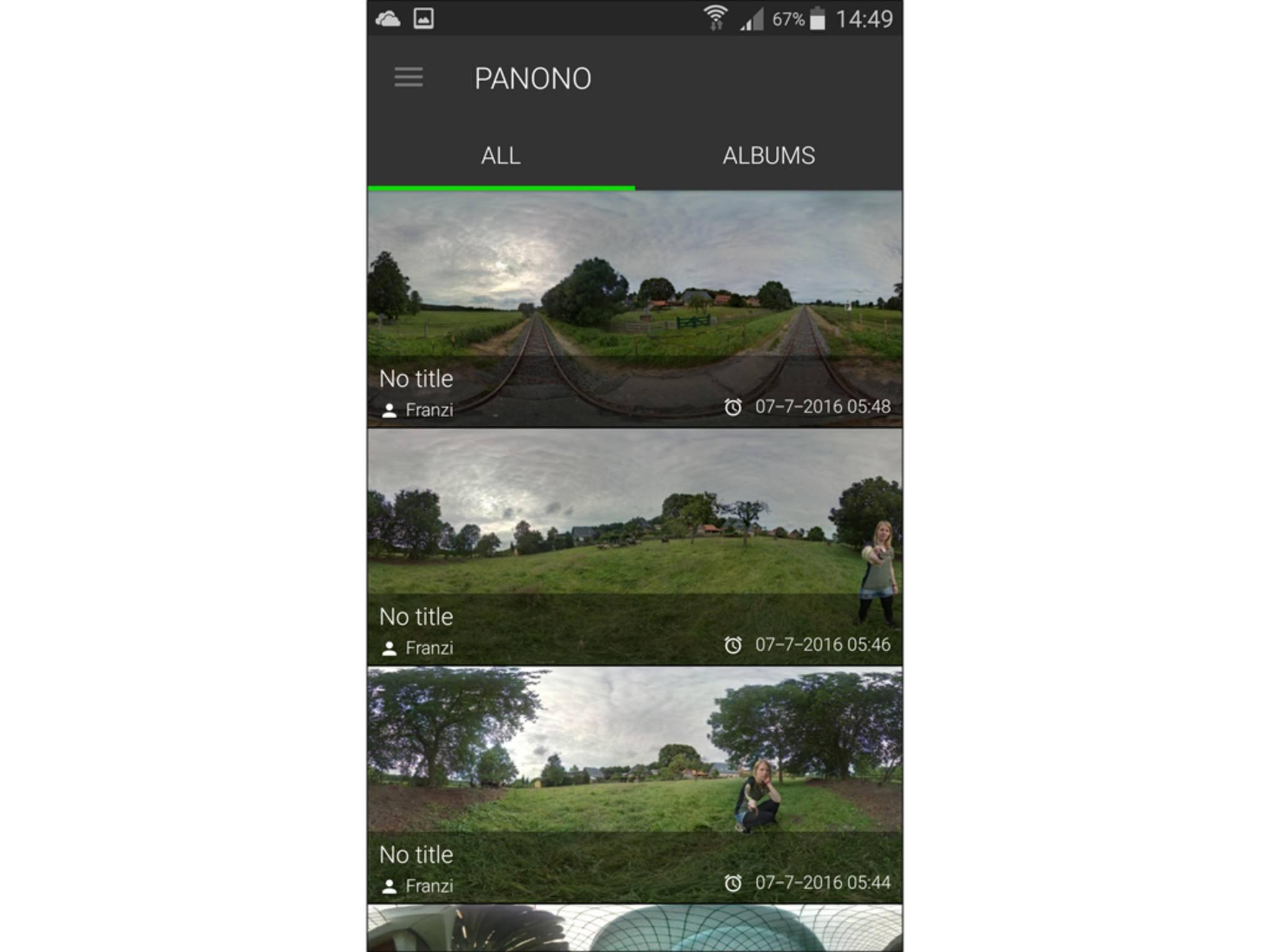 Panono Camera App 5