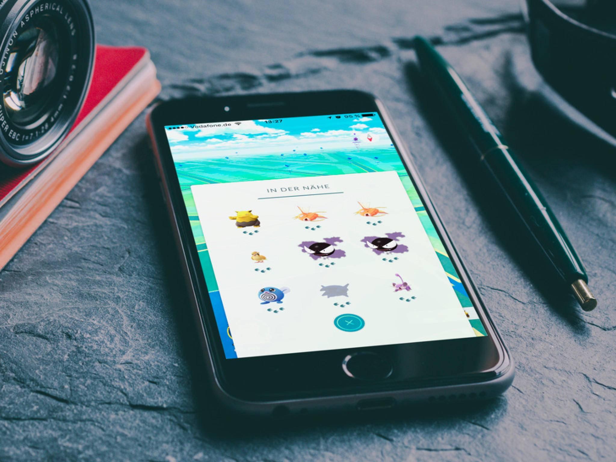 """""""Pokémon Go"""" bekommt auch für iOS den Entergiesparmodus zurück."""