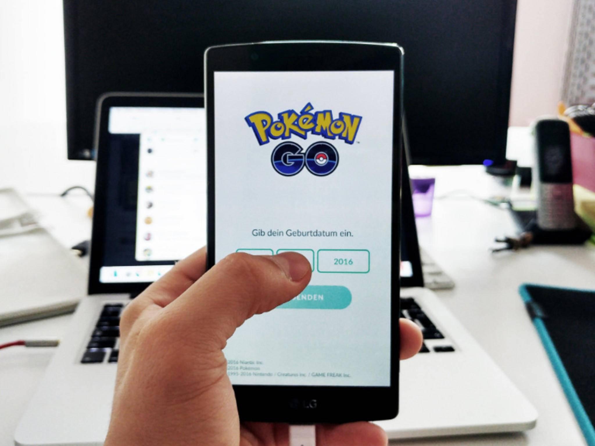 """Ein Einloggen bei """"Pokémon Go"""" scheint bei vielen Spielern nicht zu funktionieren."""