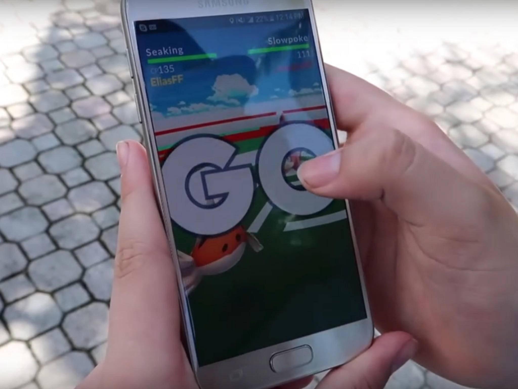 """Manche Spieler achten nur noch auf """"Pokémon Go"""" und nicht mehr auf die reale Welt."""