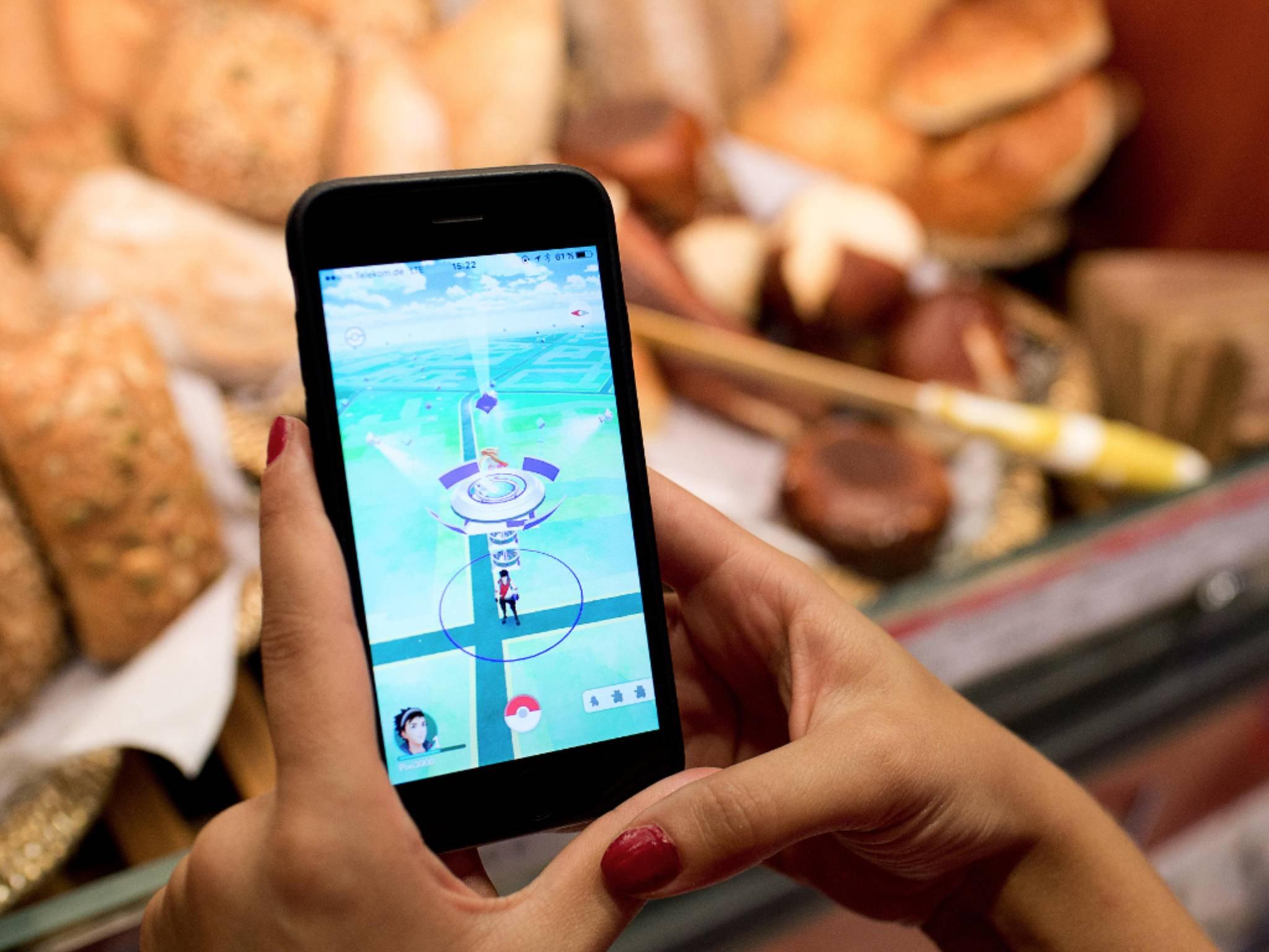 """""""Pokémon Go"""" misst für die Distanz die Luftlinie zwischen zwei Punkten."""