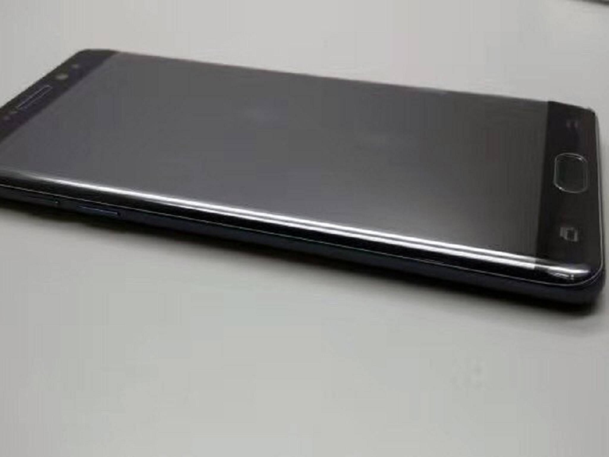Dieses Foto soll das Samsung Galaxy Note 7 zeigen.
