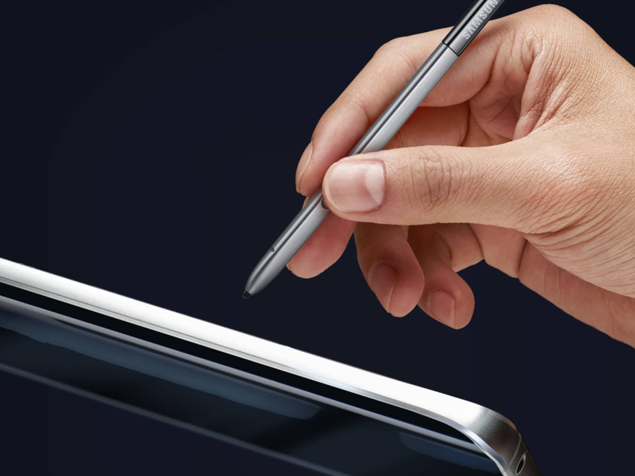 Der S Pen des Galaxy Note 5 soll komplett überarbeitet werden.