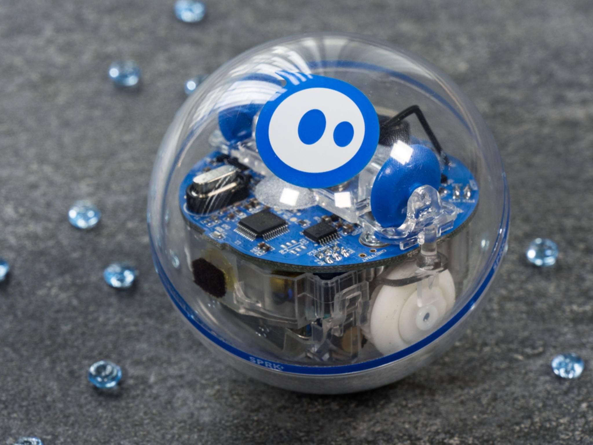 Der programmierbare Roboter Sphero SPRK+.