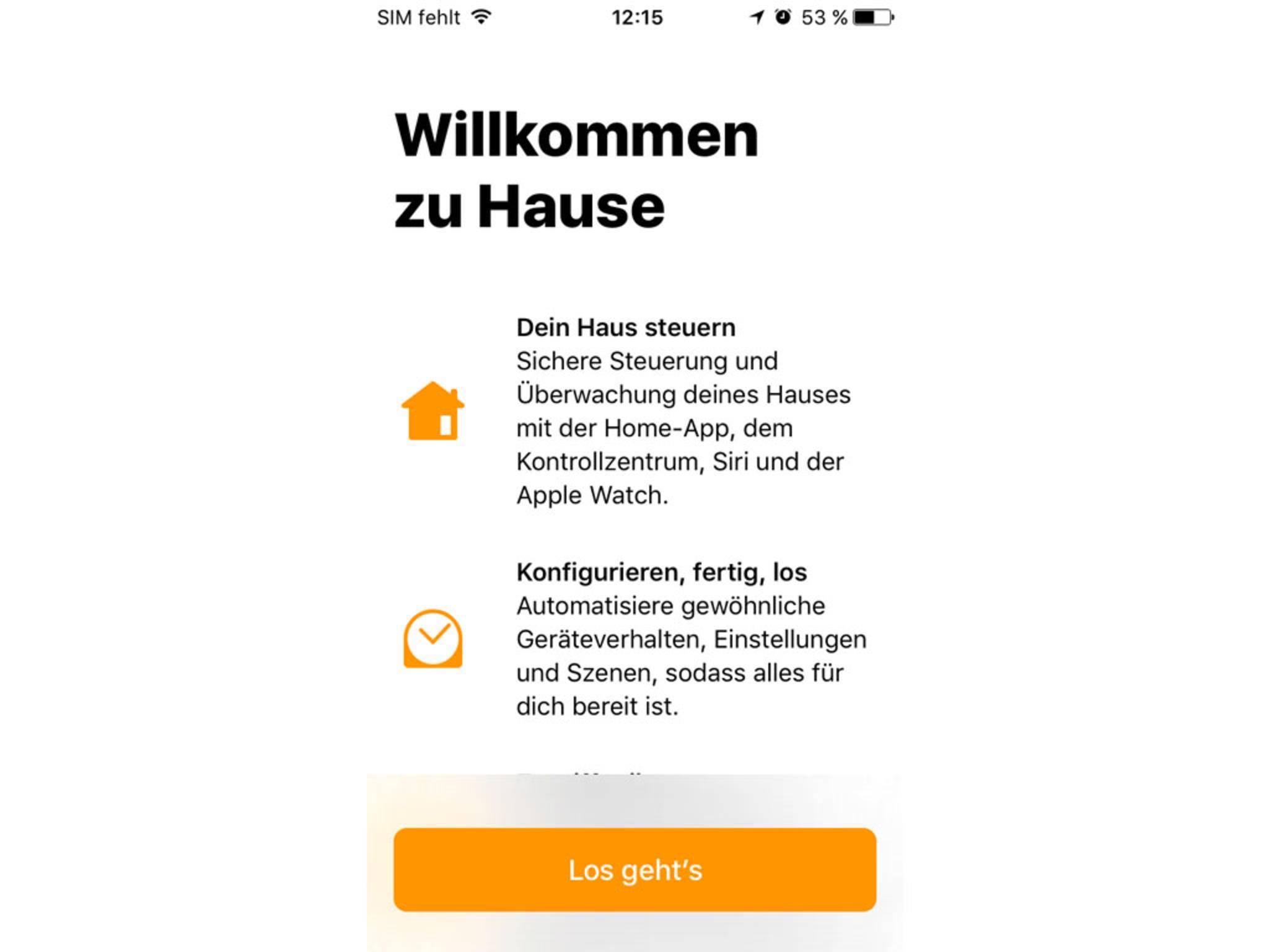 HomeKit gibt es jetzt als eigene App namens Home.