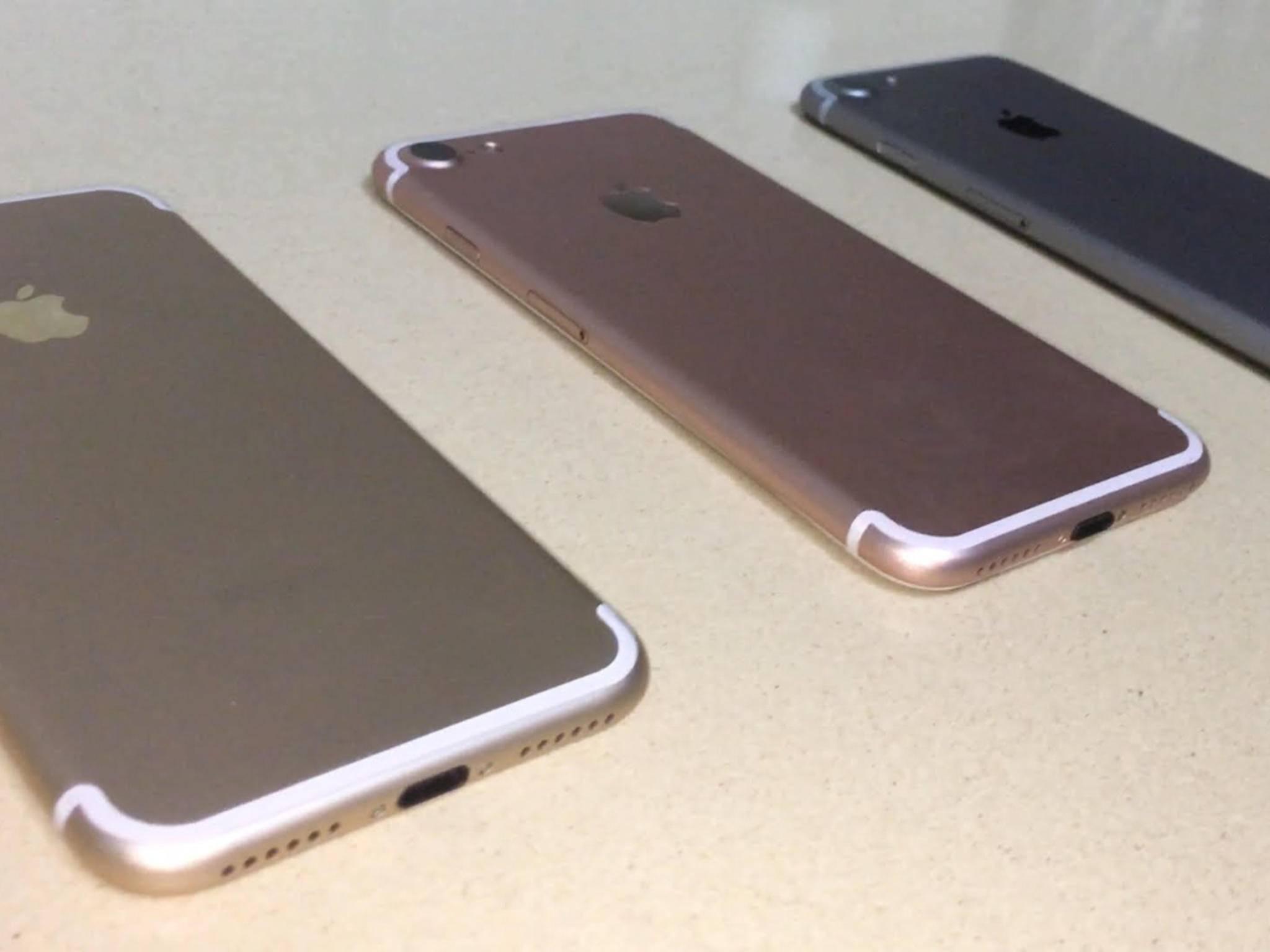iPhone 7: Apple bestellt bereits Nachschub.