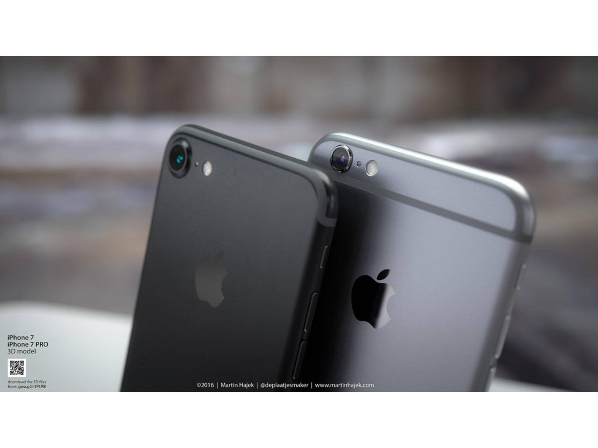 Das iPhone 7 wird angeblich in fünf verschiedenen Farben erhältlich sein.