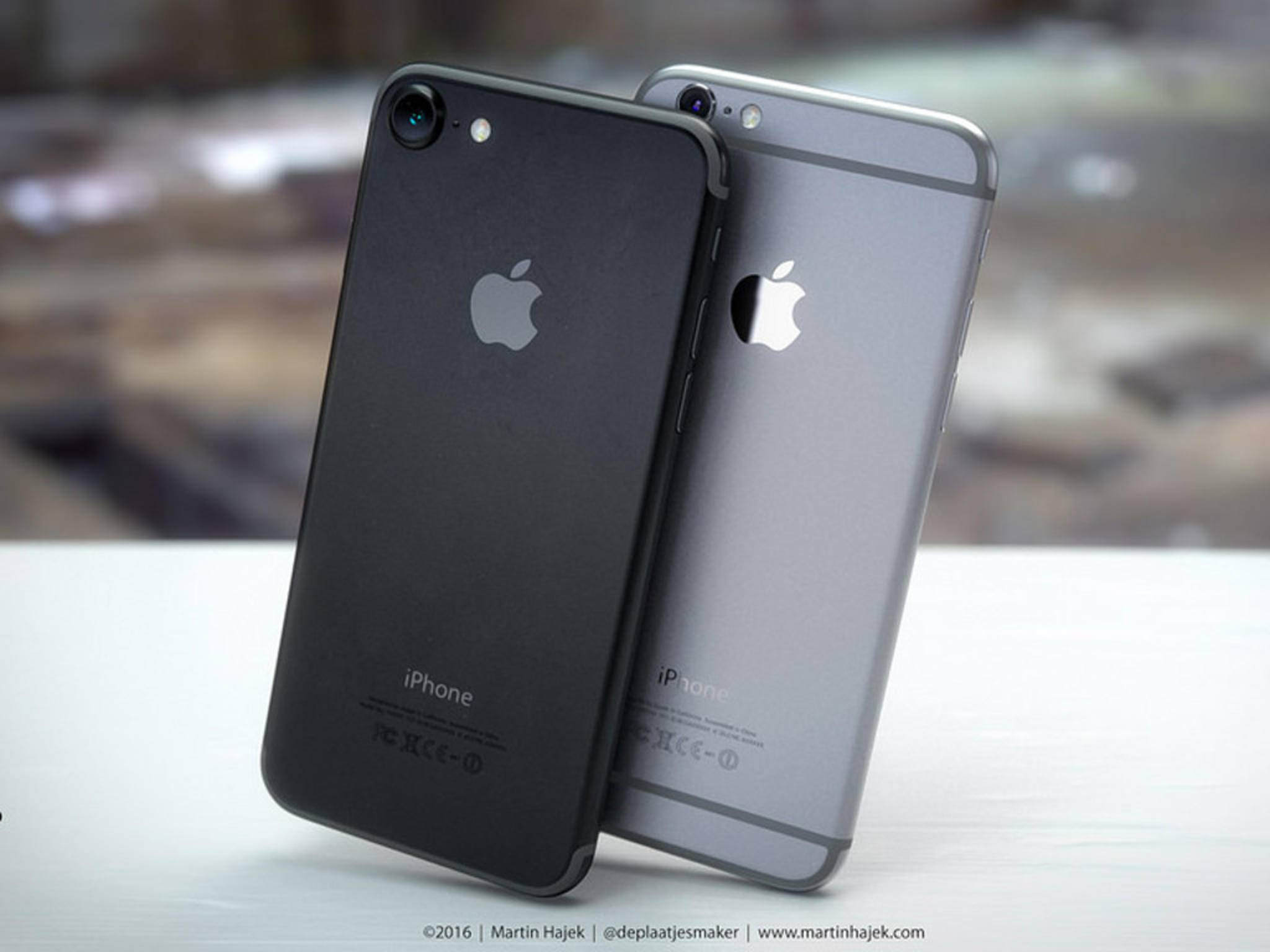 iPhone7: Kommt nun Space Black anstatt Deep blue?