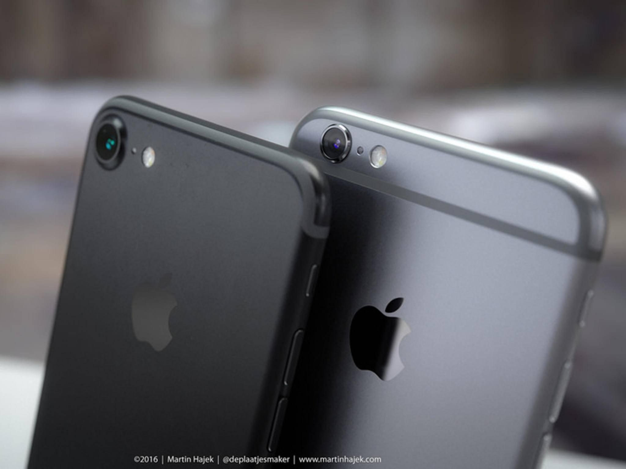 So könnte das neue iPhone 7 aussehen.