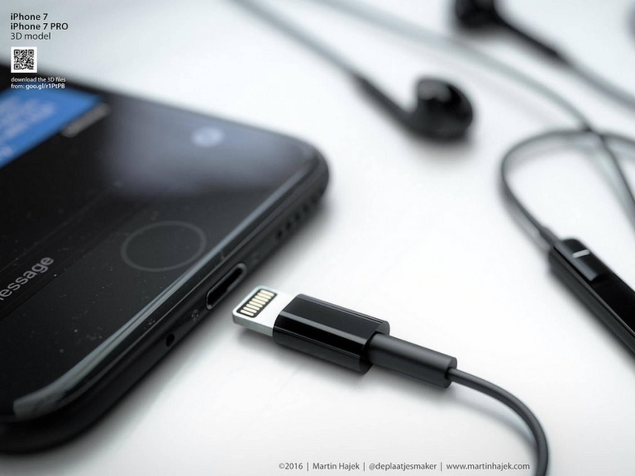 Angeblich soll es nur einen Adapter, aber keine Lightning-Kopfhörer für das iPhone 7 geben.