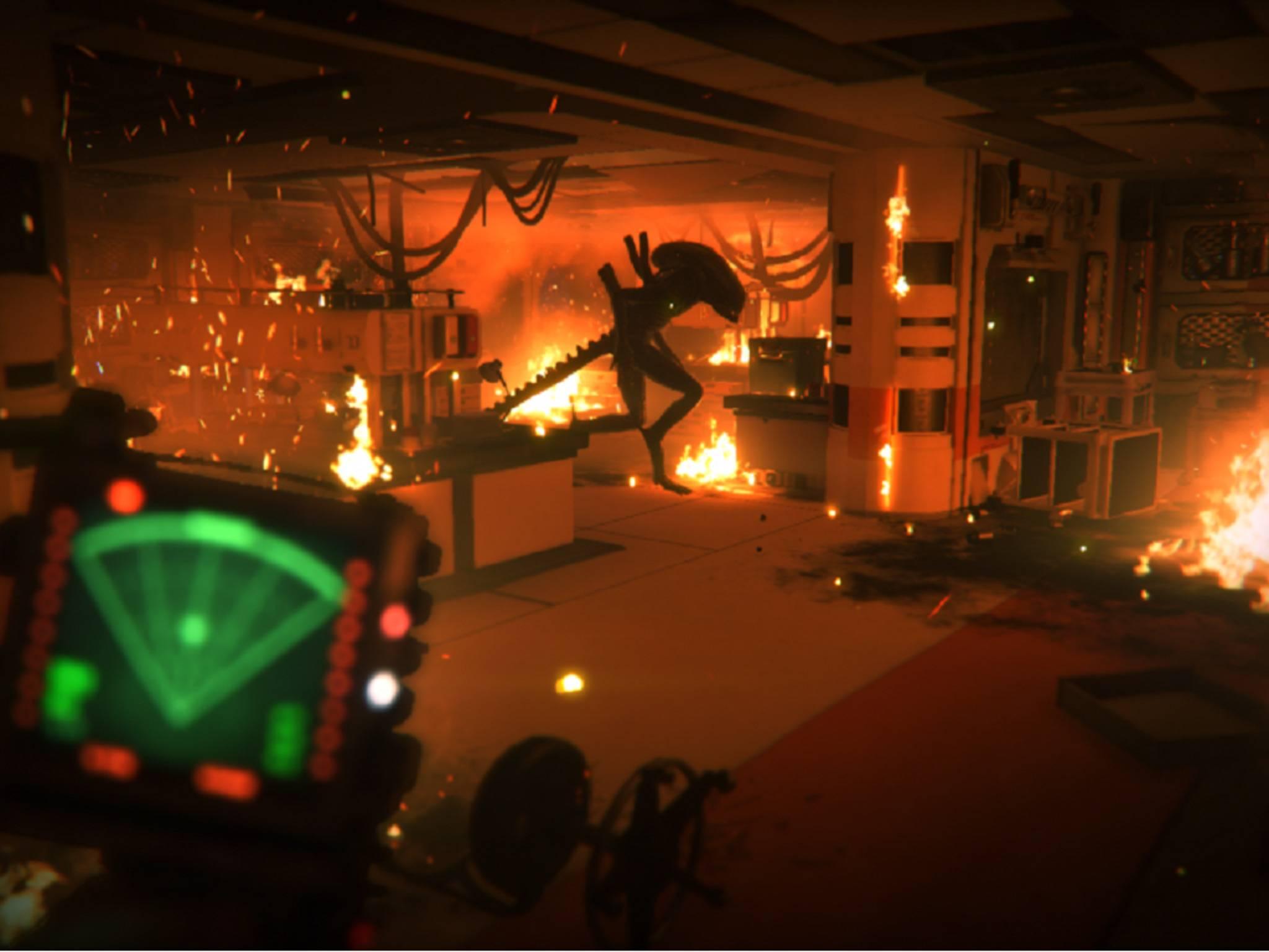 """In """"Alien Isolation"""" fliehst Du vor einem unbesiegbaren Monster."""